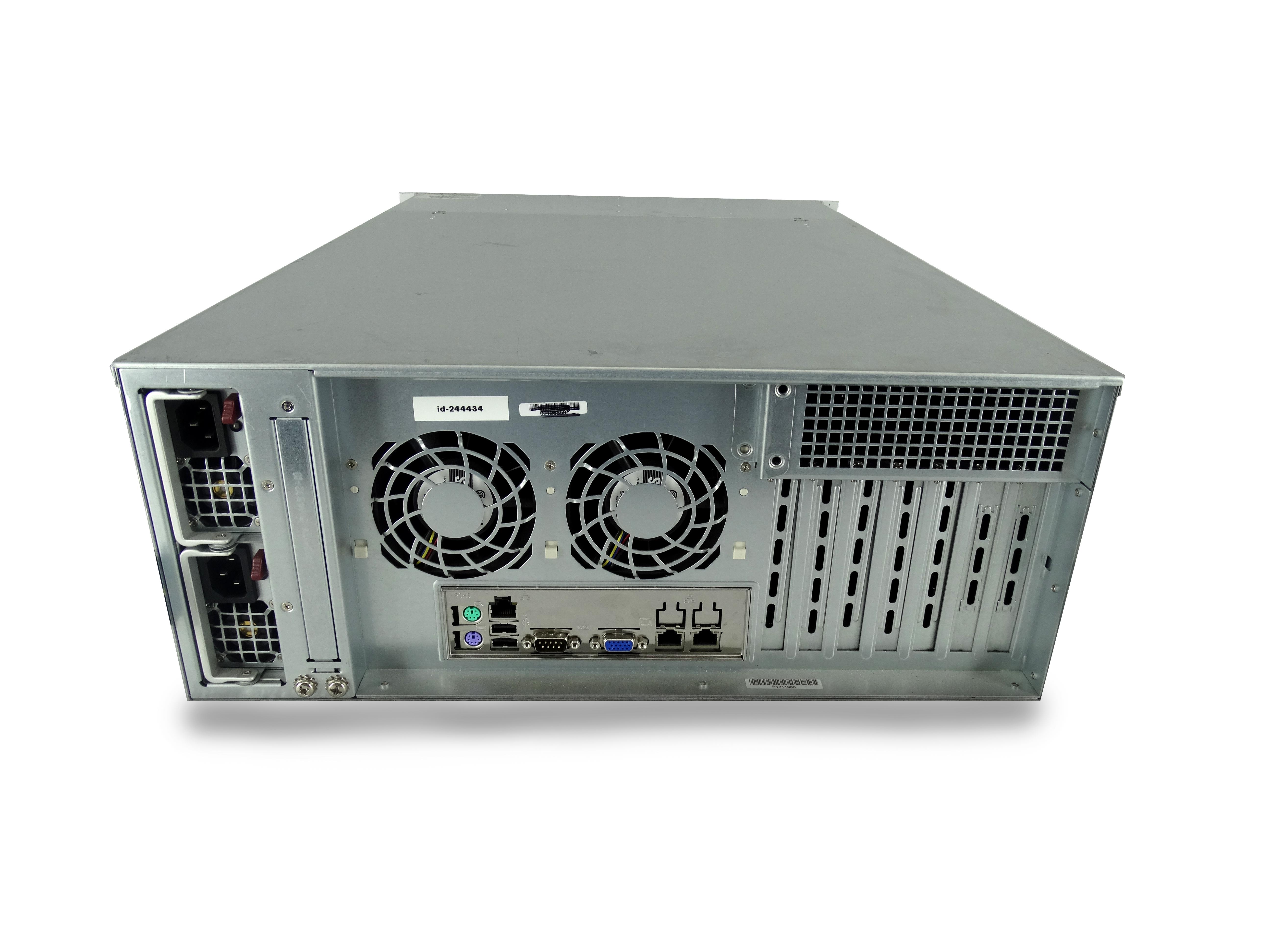 Supermicro-4U-Freenas-ZFS-Unraid-Server-2x-E5-2650v2-8-Core-48GB-24x-Trays thumbnail 3
