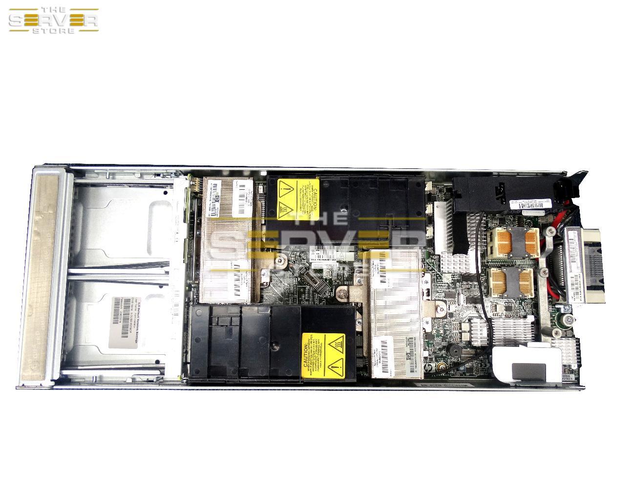 Server HP BL460C G7 2x L5640 2.26GHz 6 CORE 24GB - 1
