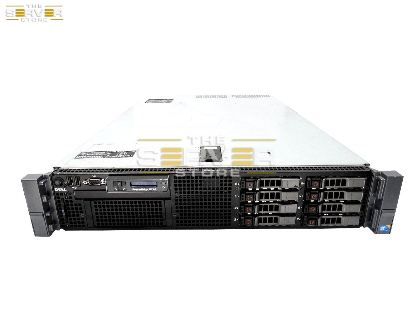 Dell Poweredge R710 Virtualization Server 12 Core 48GB 4x 300GB 15K 1.2TB Perc 6i Sale!