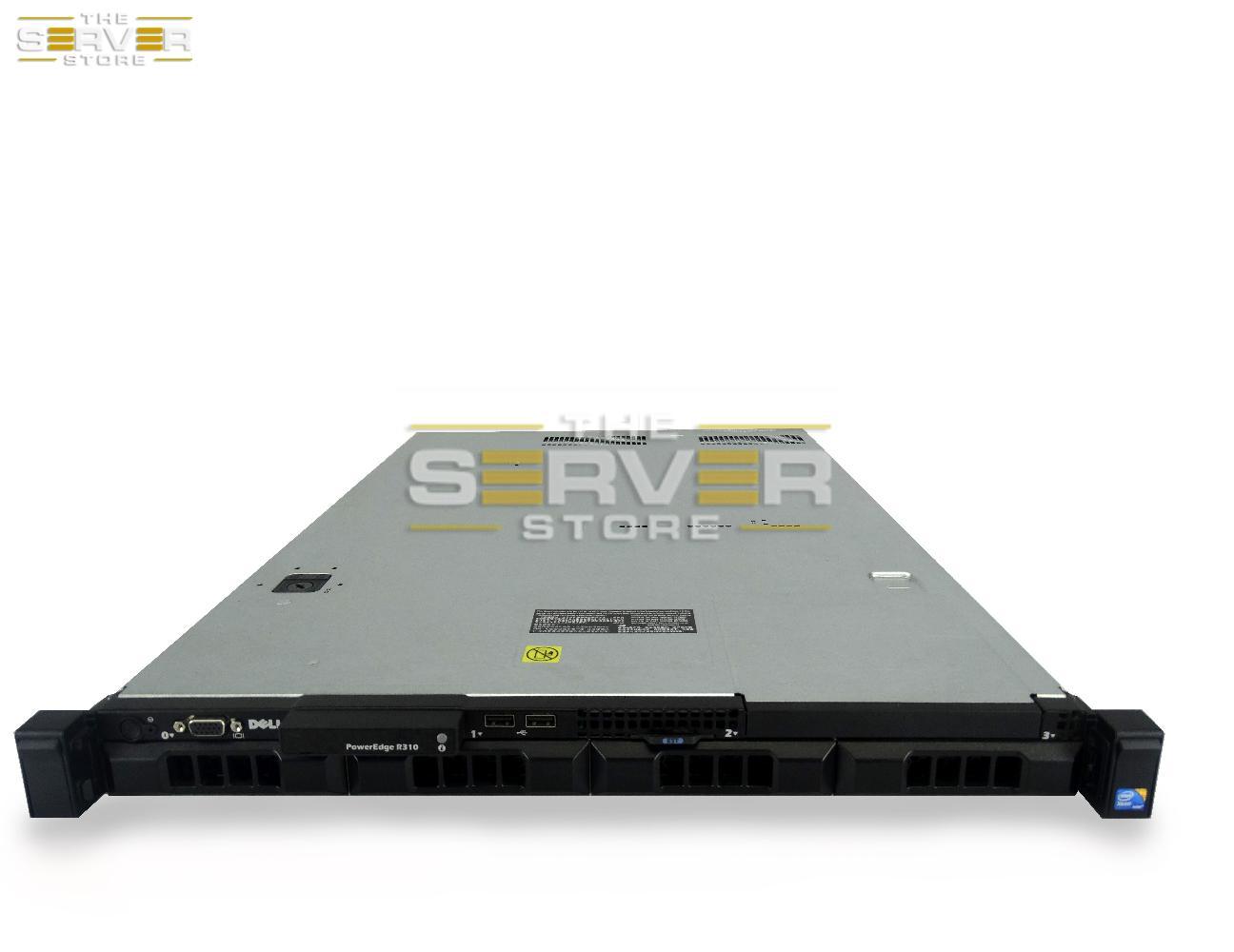Dell PowerEdge R310 Non-Pluggable 4x LFF 1U Server