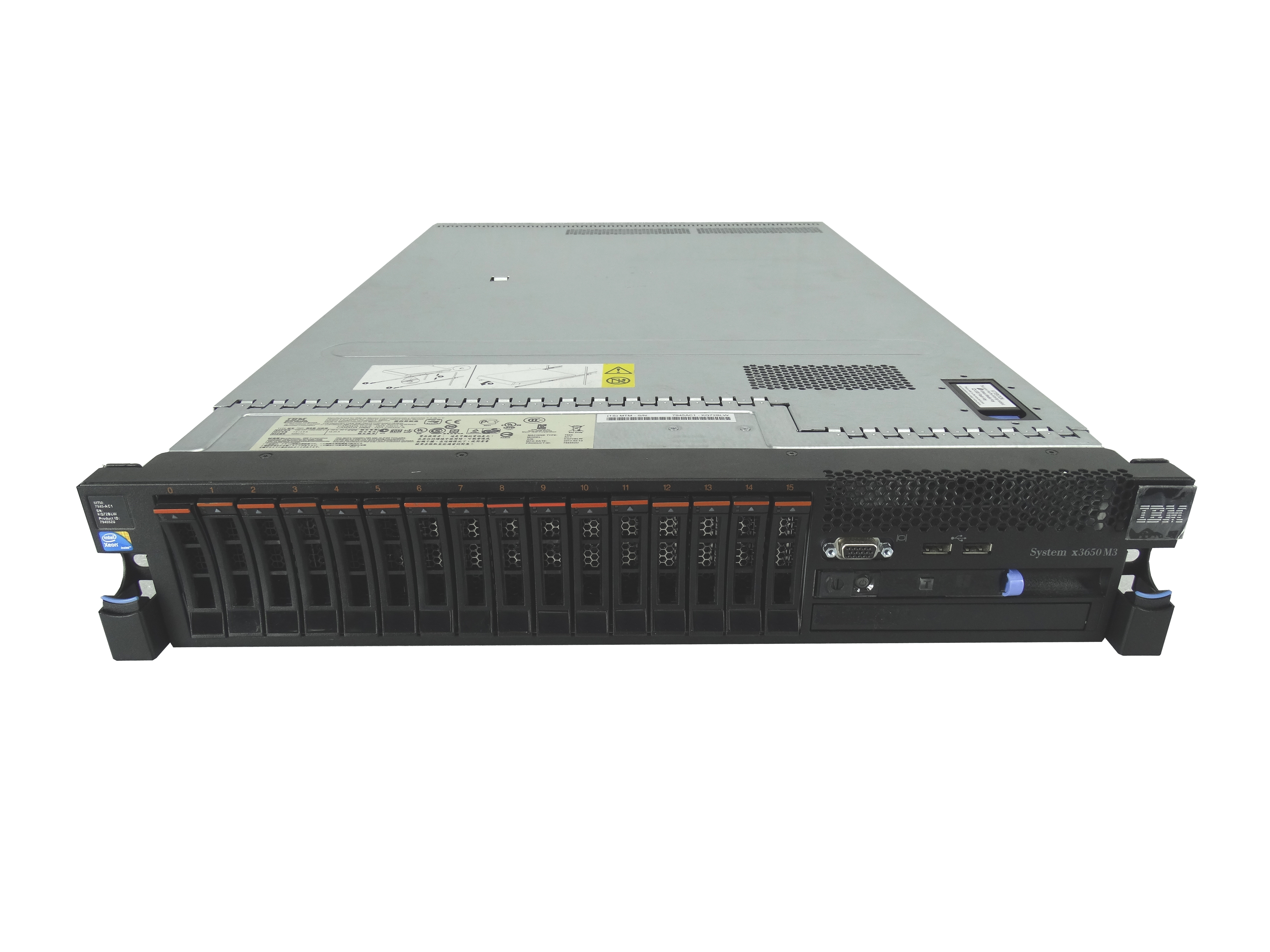 IBM X3650 M3 Server *Website upgrade in progress. Please contact us with any questions you may have.*