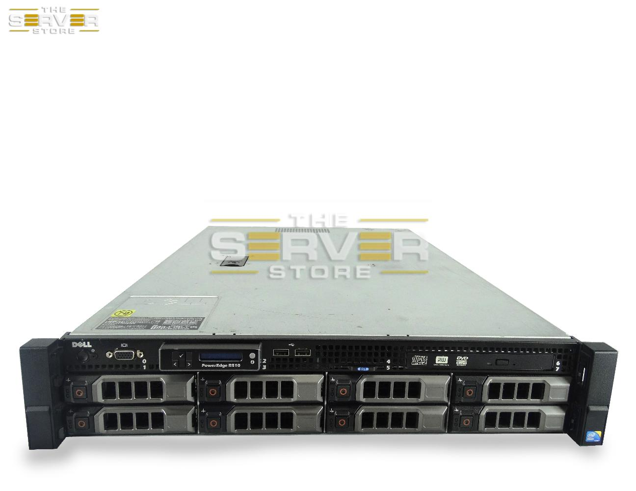 Dell PowerEdge R510 8x 2U LFF Server