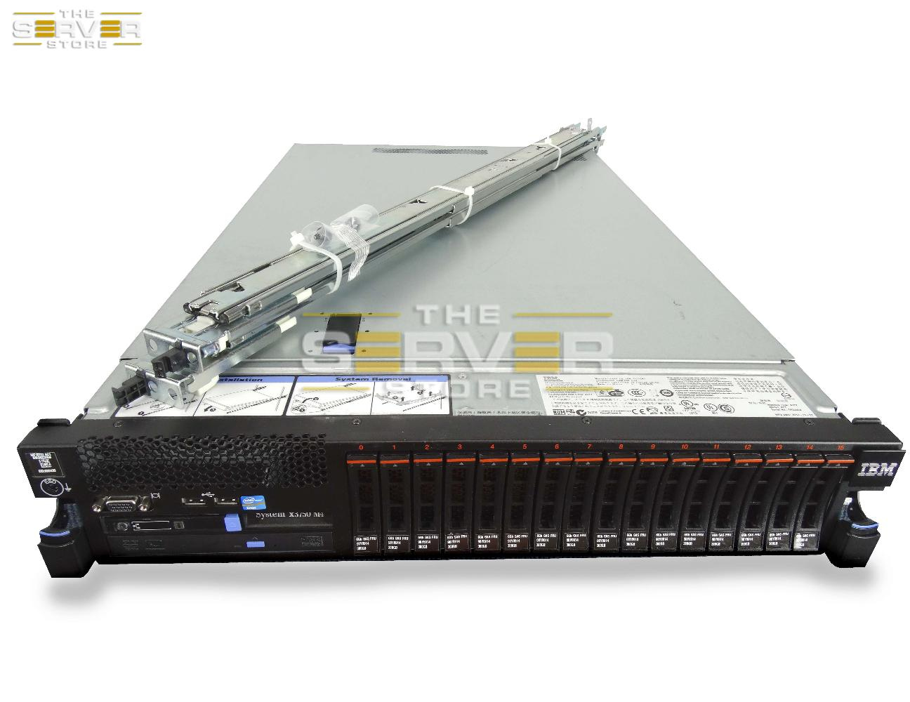 IBM X3750 M4 16x SFF *Website upgrade in progress. Please contact us with any questions you may have.*