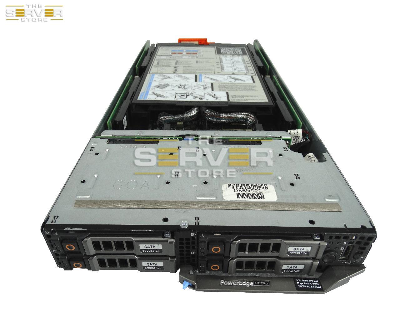 Dell PowerEdge FM120x4 Microserver 4x SFF