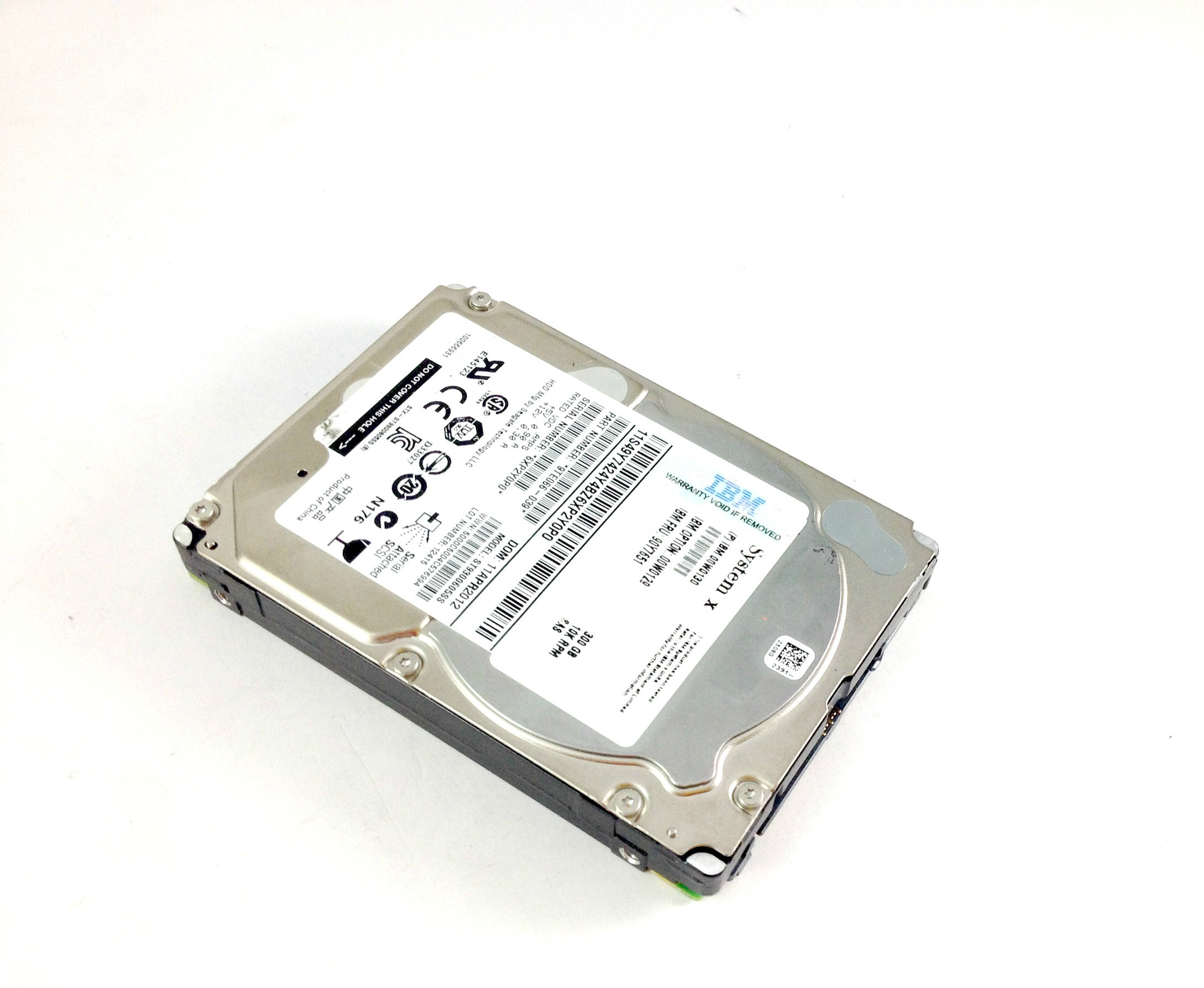 IBM 300GB 10K 6Gbps SAS 2.5'' Hard Drive (90Y7651)