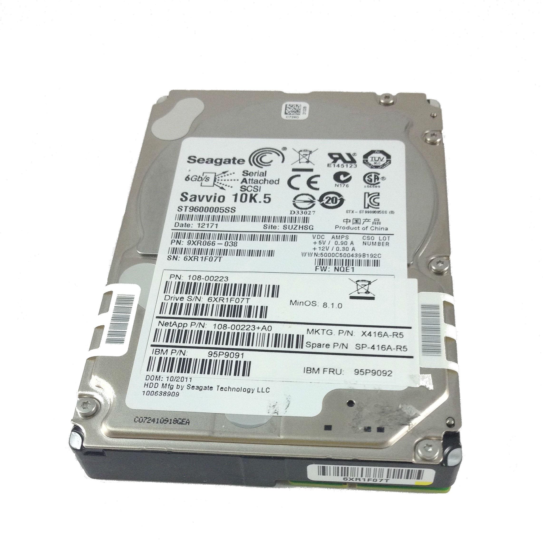 IBM Netapp 600GB 10K 6Gbps SAS 2.5'' Hard Drive (95P9092)