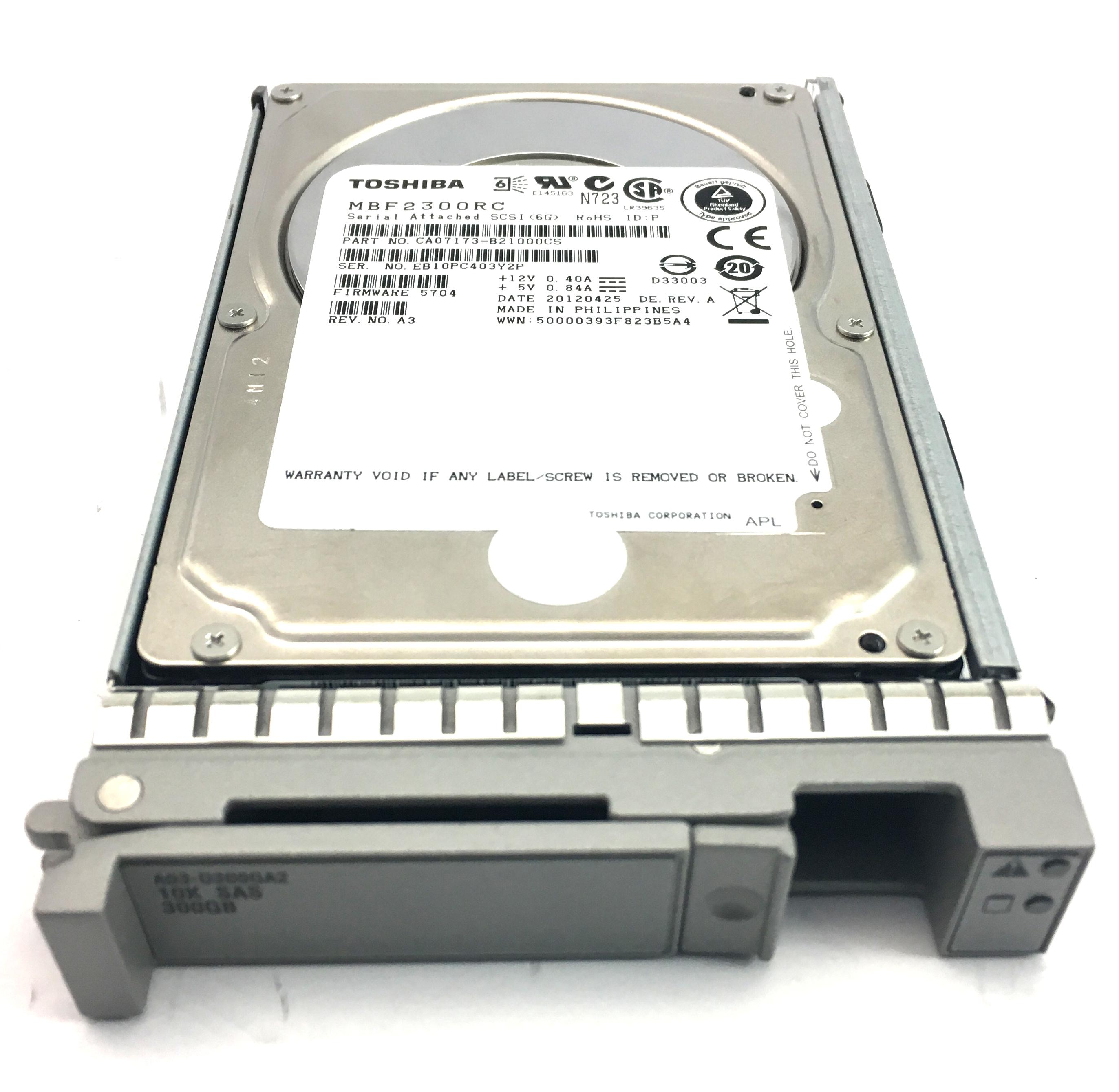 CISCO 300GB 10K 6GBPS SAS 2.5'' HARD DRIVE (A03-D300GA2)