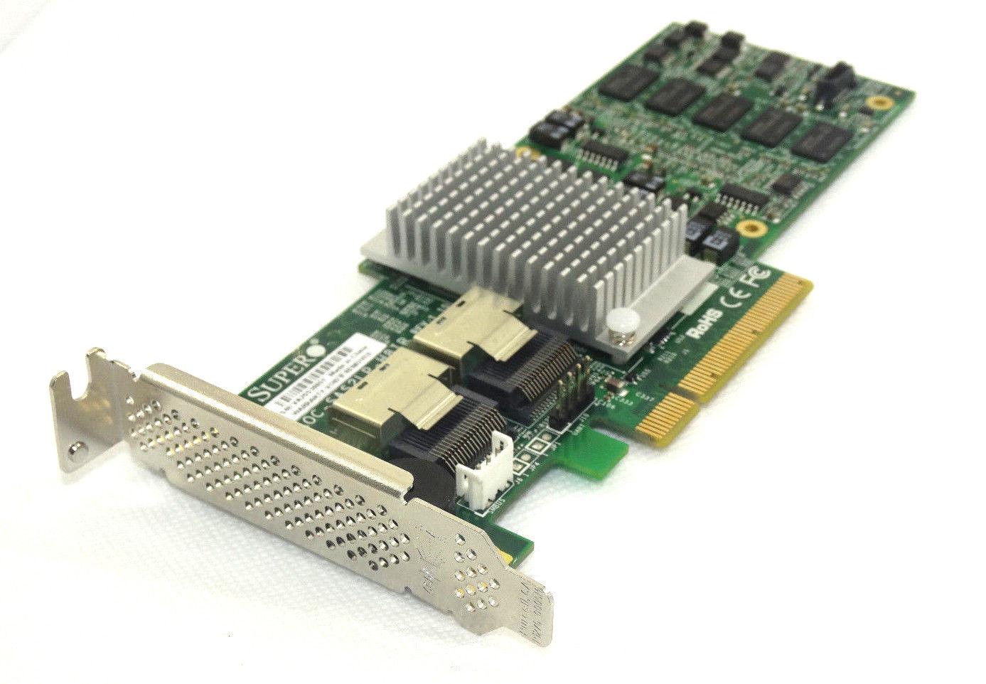 Supermicro SAS 2108 PCI-E X8 SAS/SATA Raid Controller (AOC-SAS2LP-H8IR)