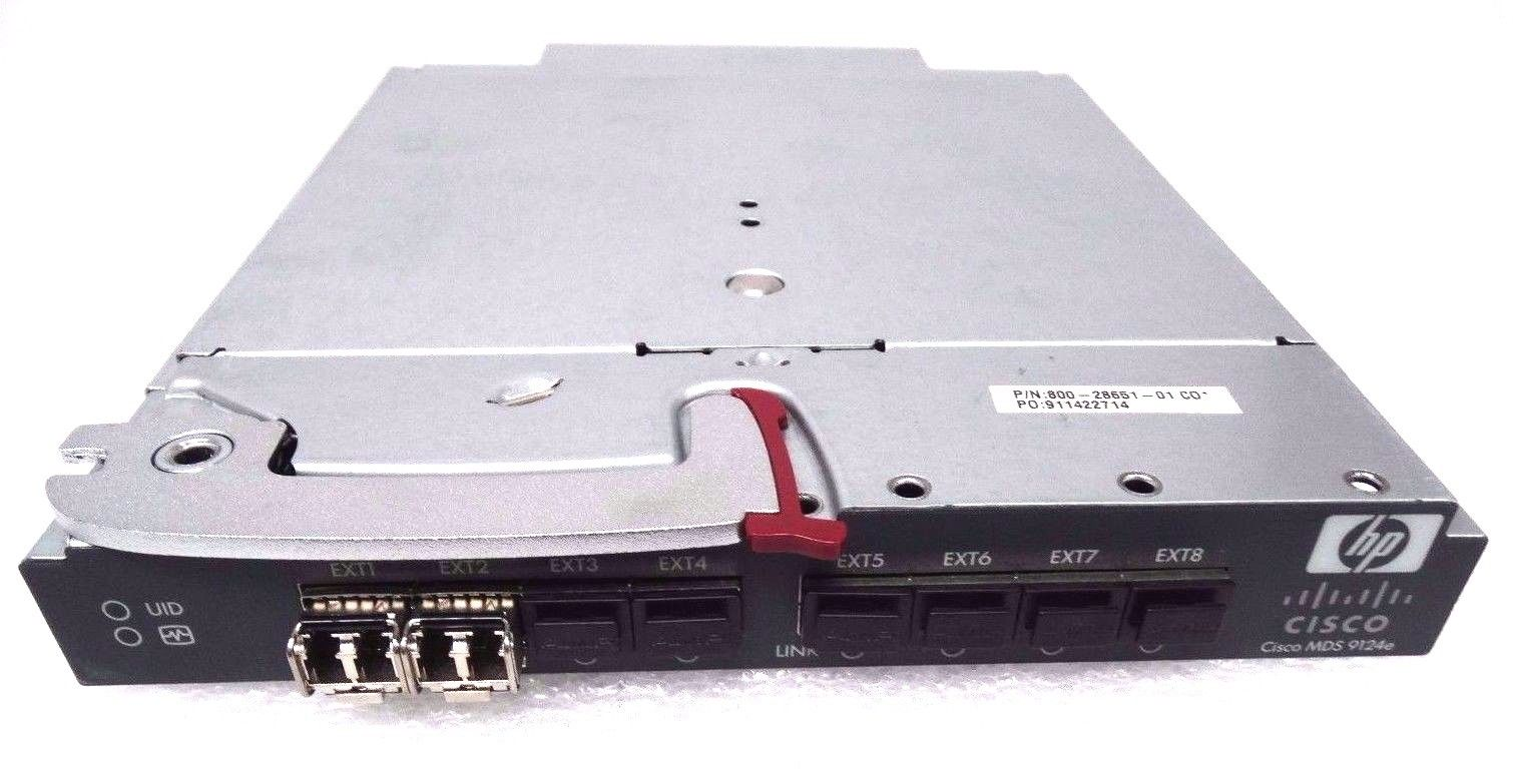 HP BLC3000 BLC7000 Cisco Mds 9124E Fabric Switch (AG641A)