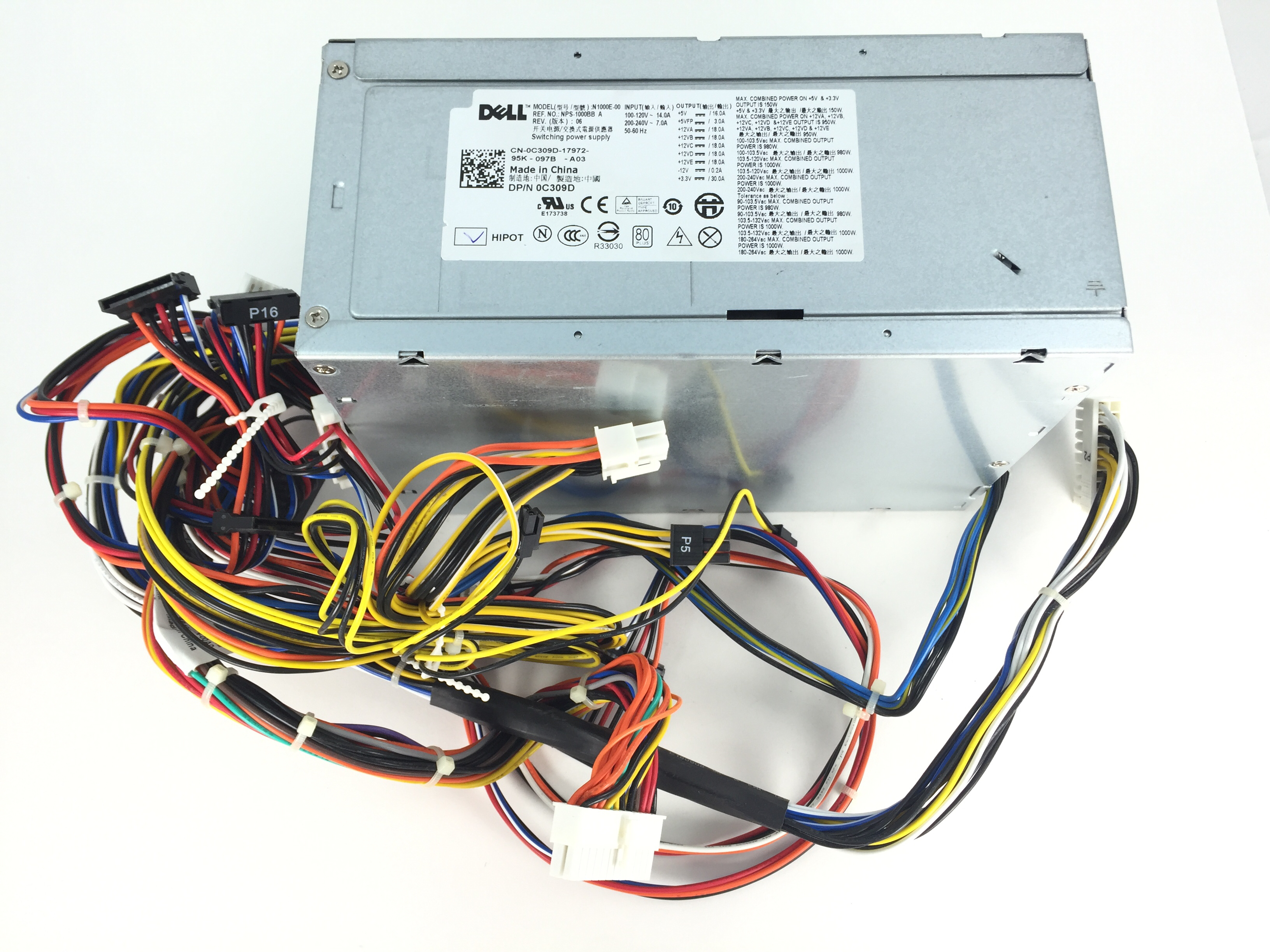 Dell Page 77 1000w Power Supply Wiring Diagram Precision T7400 C309d