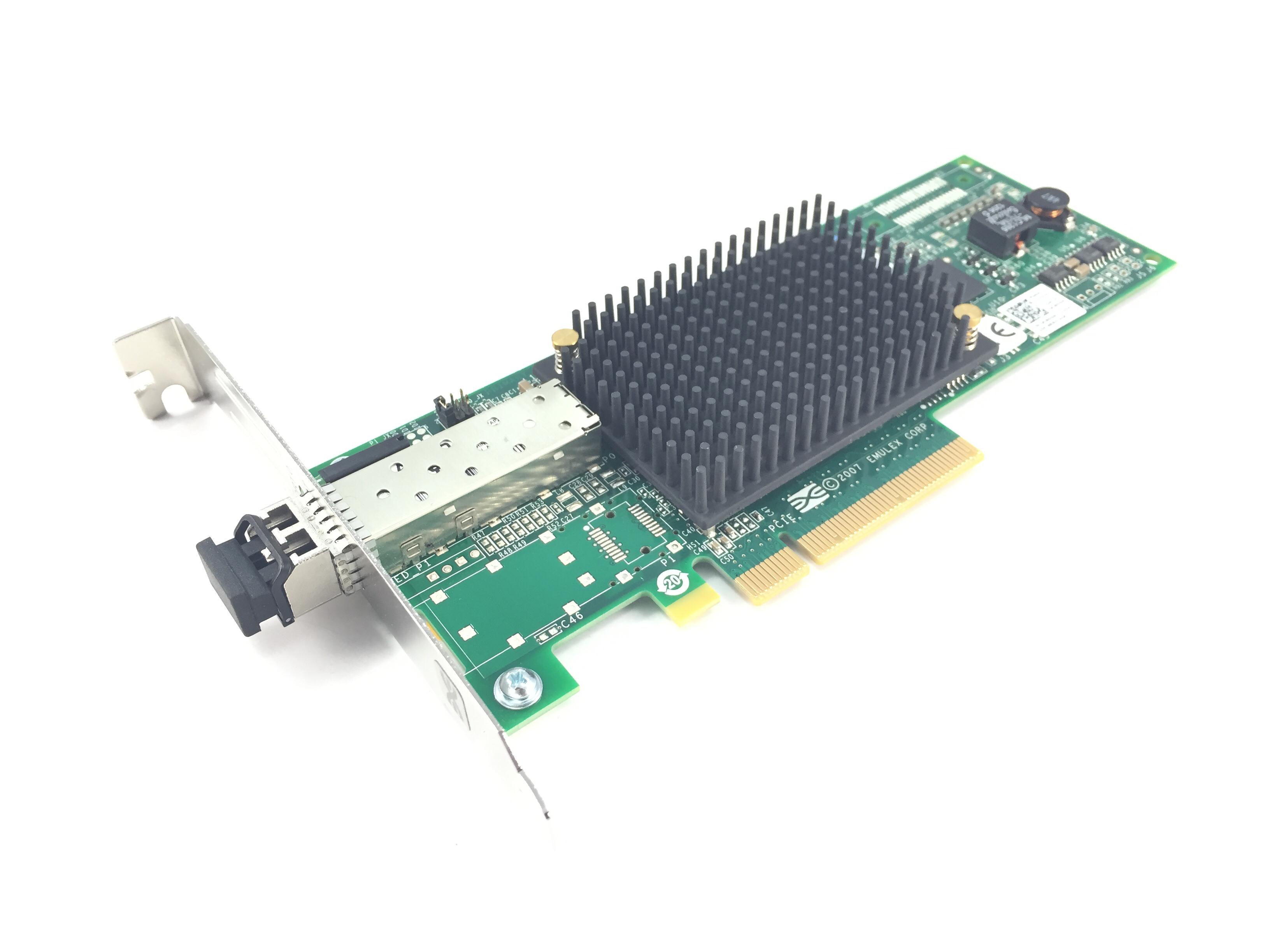 Dell Emulex LPE12000 8GB PCI-E Fibre Channel Host Bus Adapter (C855M)