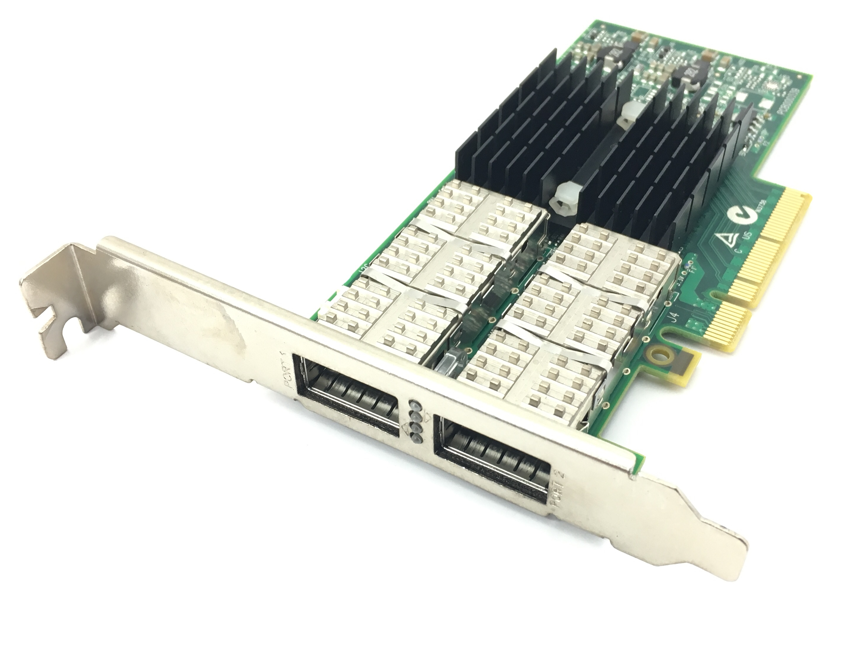 Mellanox CX354A ConnectX-3 VPI QDR IB 10GbE Dual-Port QSFP Adapter NIC (CX354A)