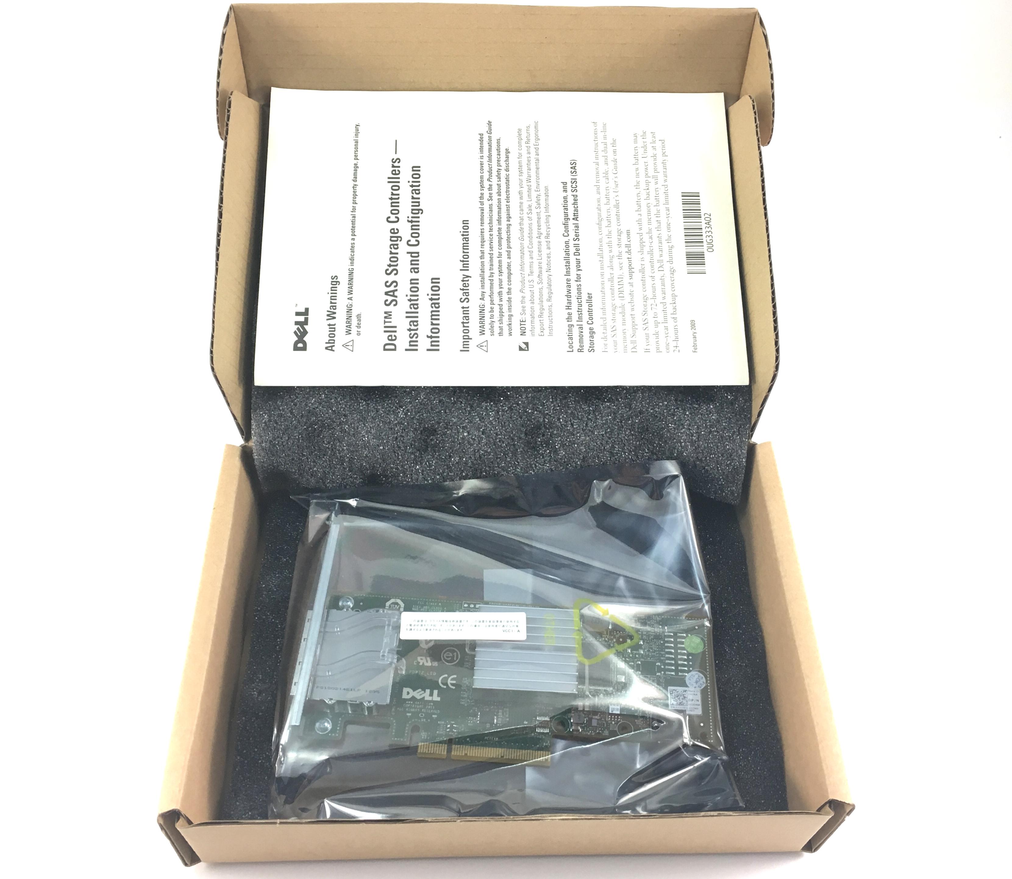 DELL PERC H200E 6GBPS DUAL PORT PCI-E RAID CONTROLLER (12DNW)