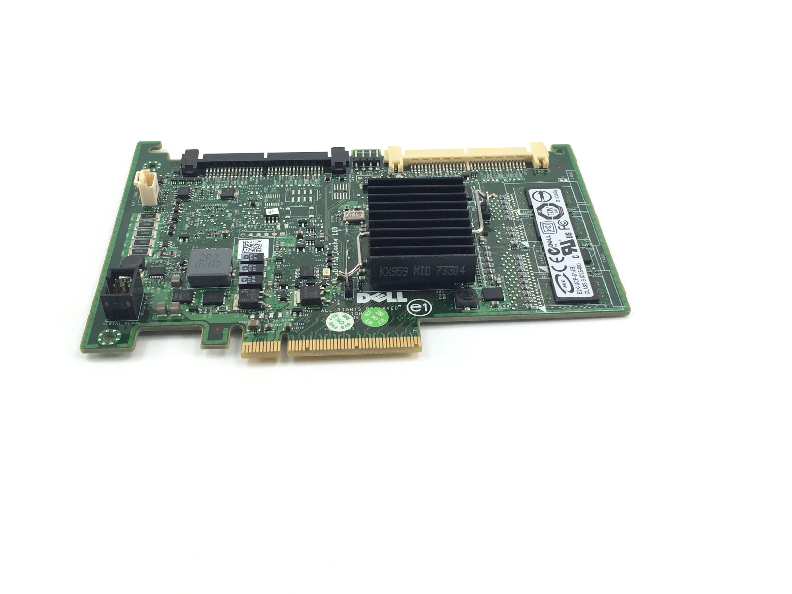 Dell PowerEdge PERC 6/I PCI-E SAS/SATA Raid Controller (DX481)