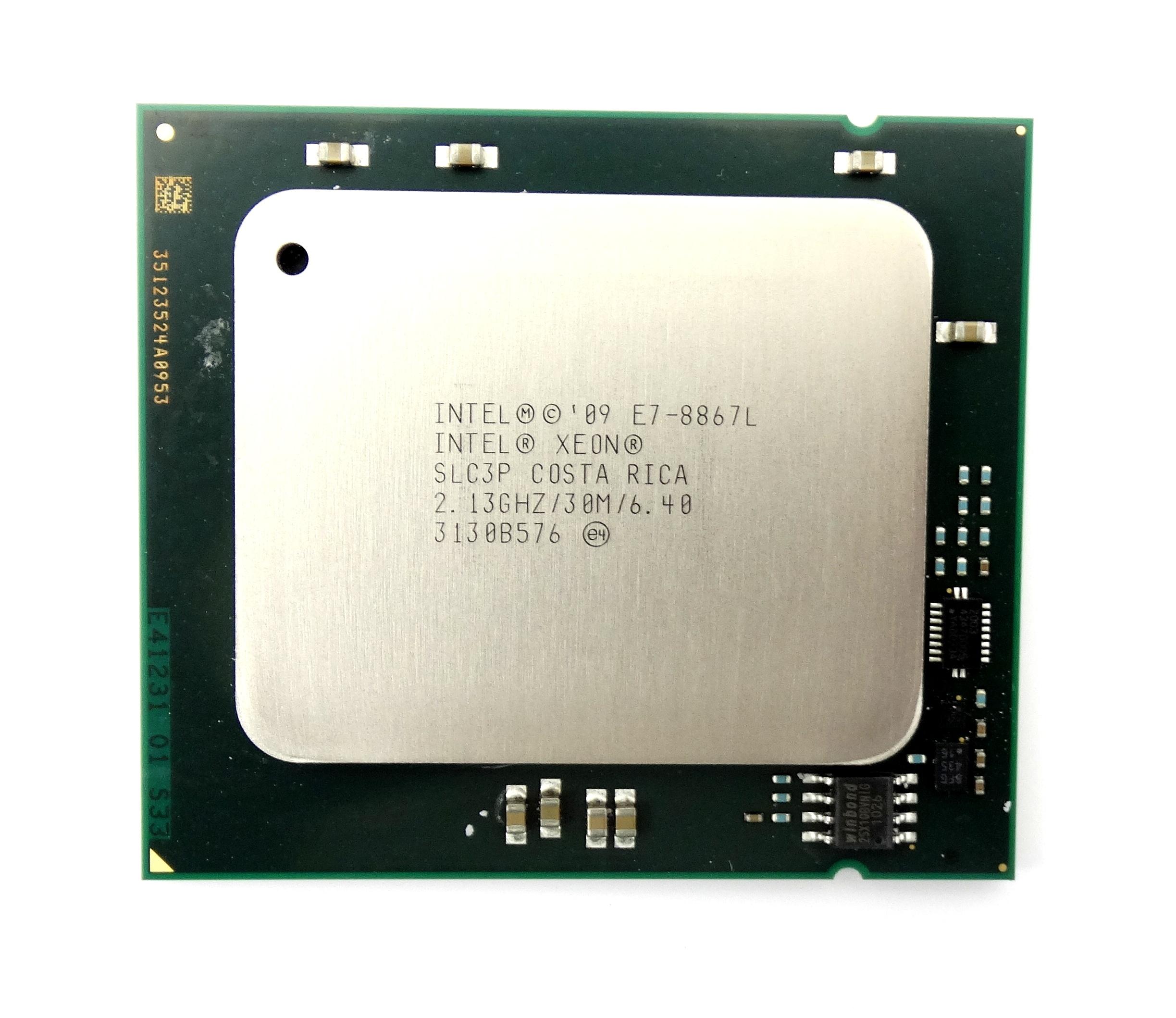 INTEL XEON E7-8867L 2.13GHZ 10 CORE 30MB LGA1567 PROCESSOR (SLC3P)
