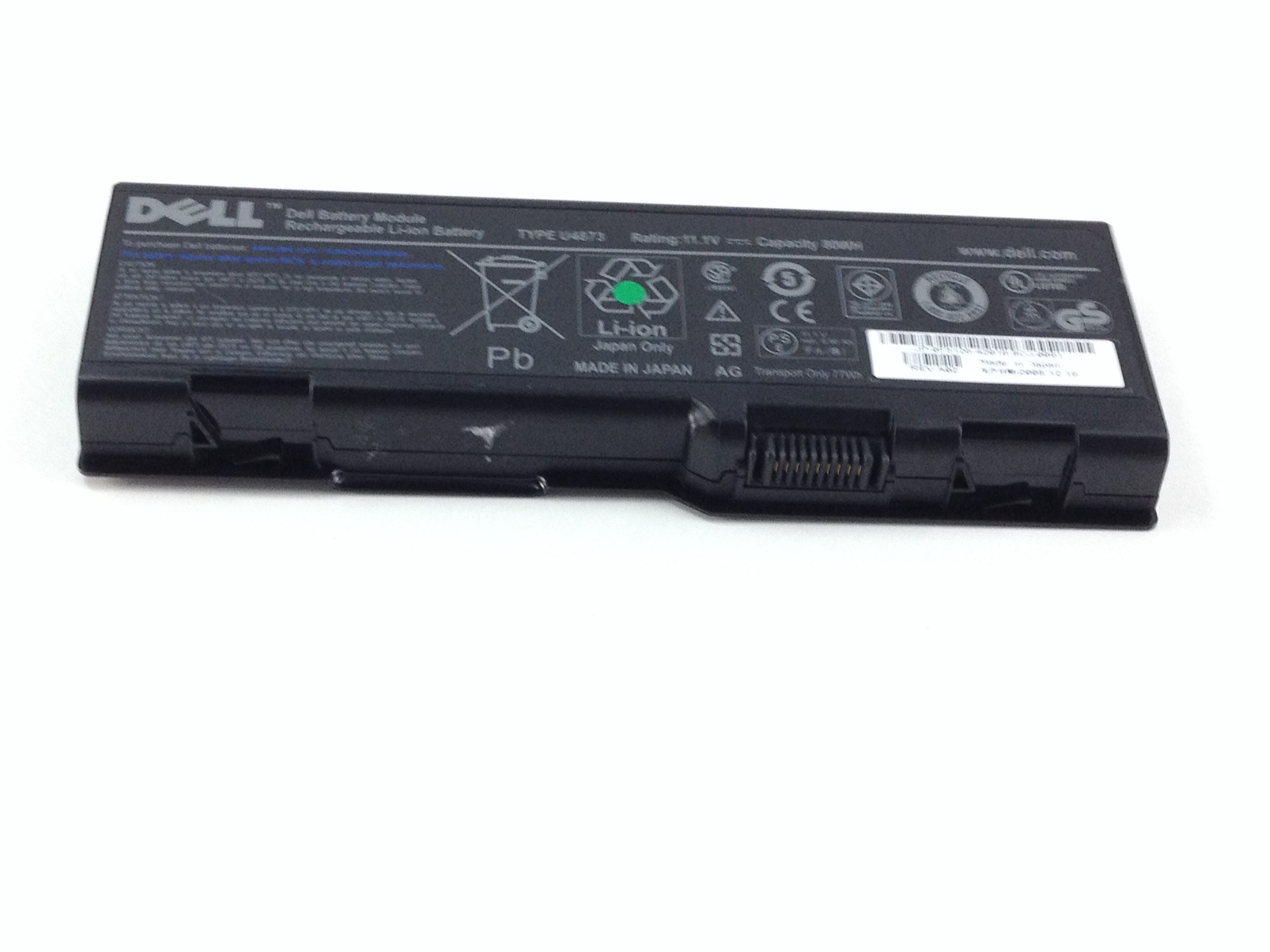 Dell M90 11.1V 9-Cell Rechargeable Li-Ion Battery (F5126)