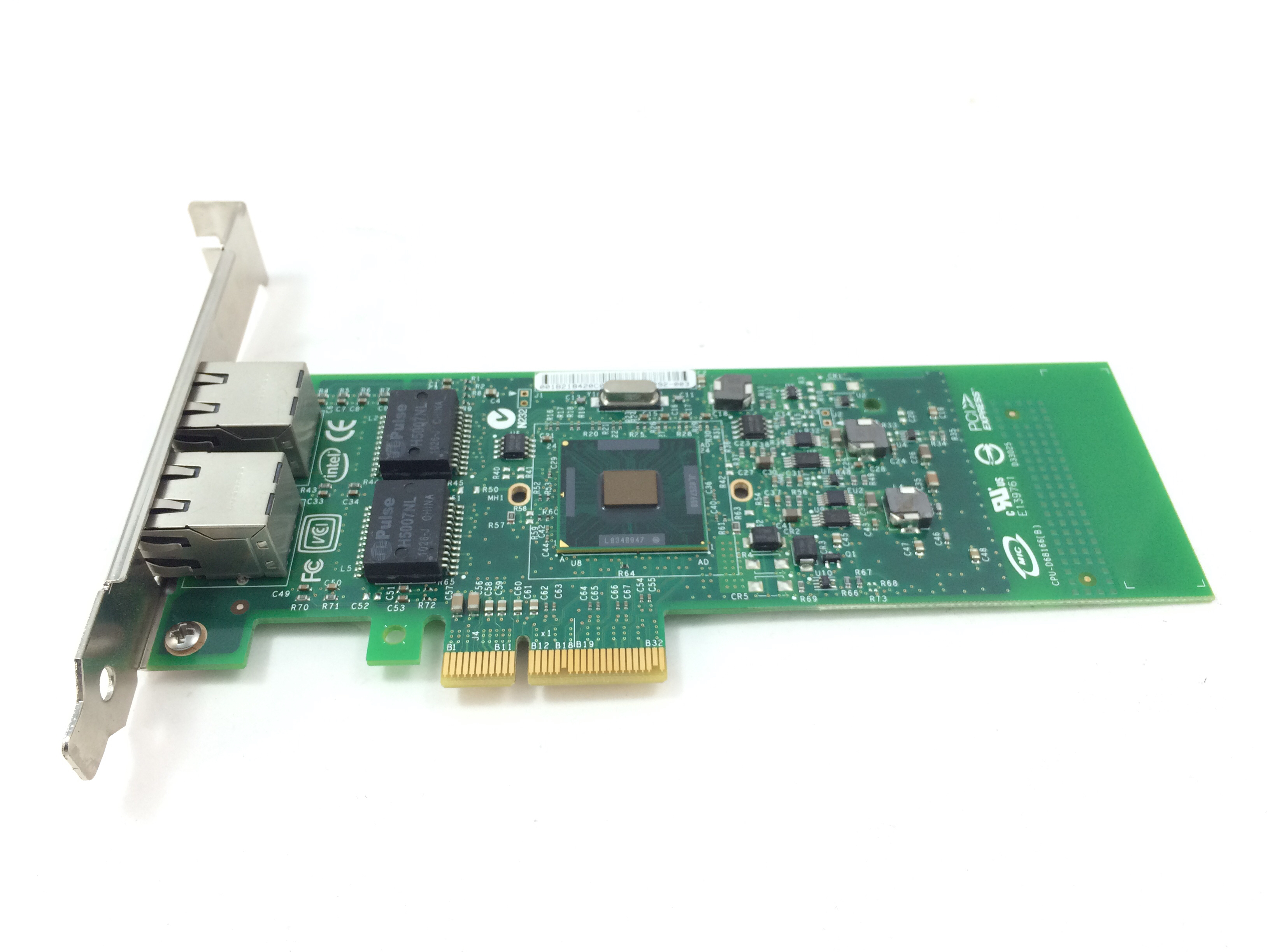 Dell Intel Pro/1000 Pt Dual Port Gigabit PCI-E  Network Card (G174P)