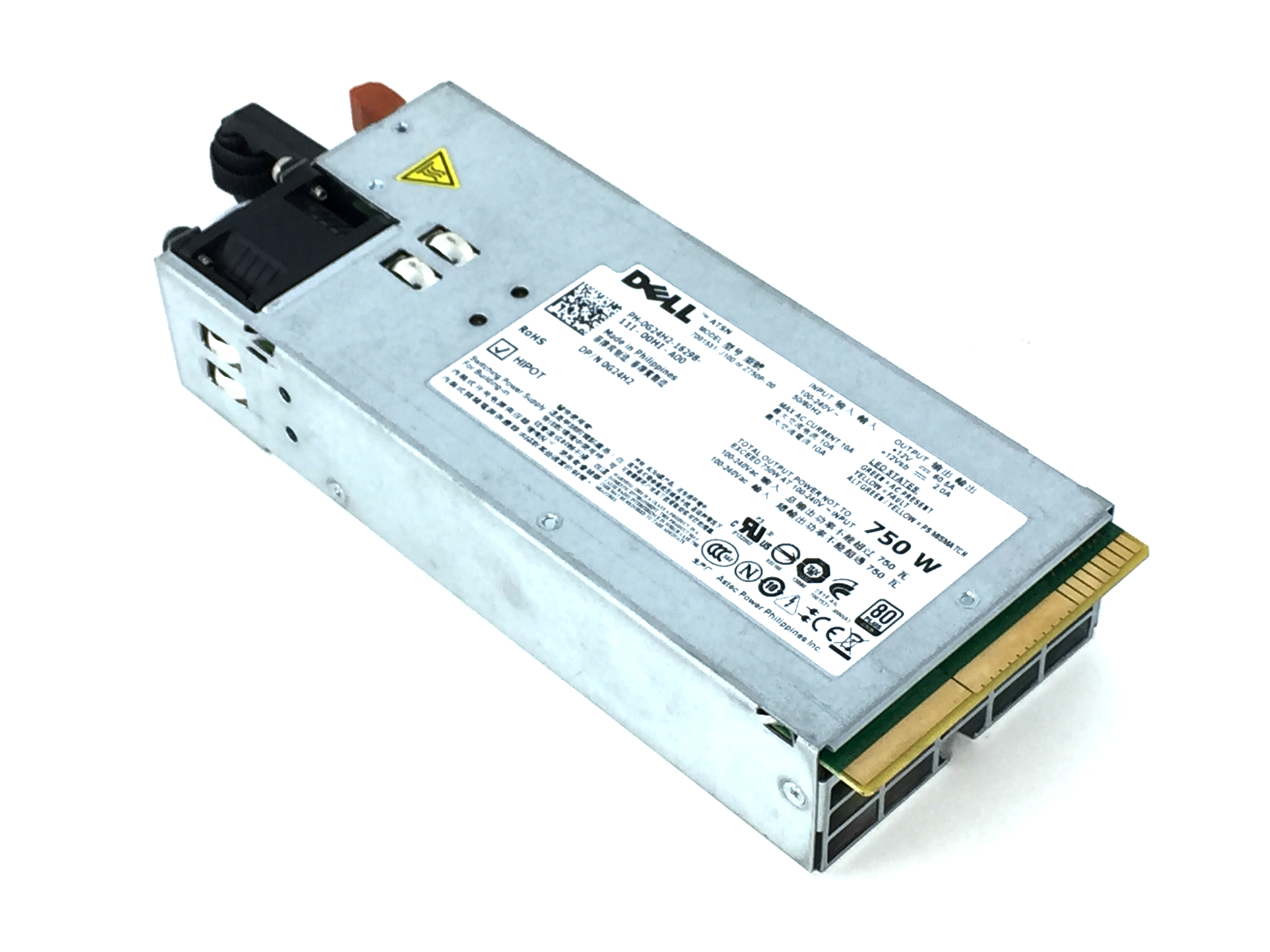 Dell PowerEdge R510 R810 R910 750W Power Supply (G24H2)