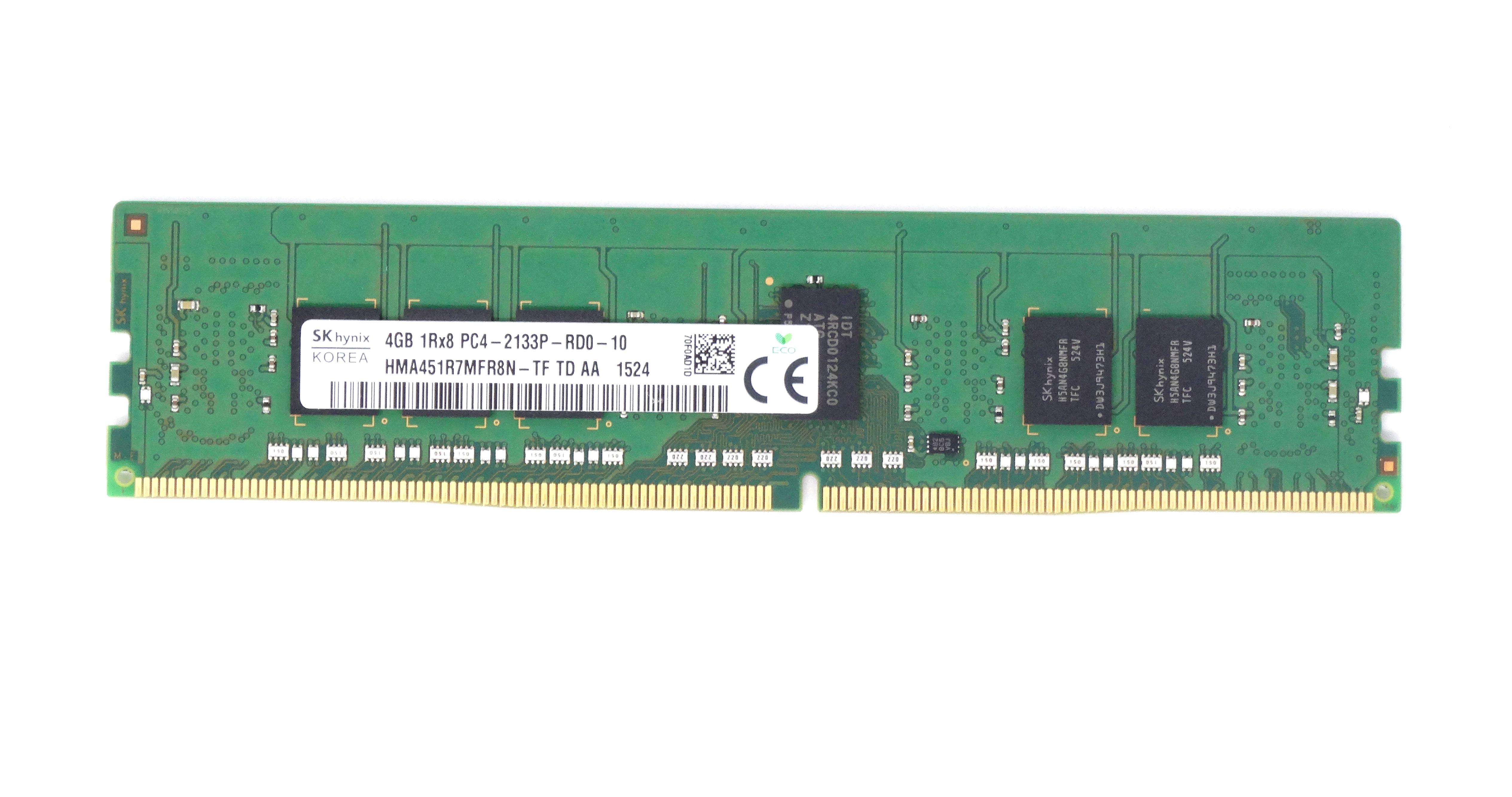 Hynix 4GB 1Rx8 Pc4-2133P DDR4 ECC REG Memory (HMA451R7MFR8N-TF)