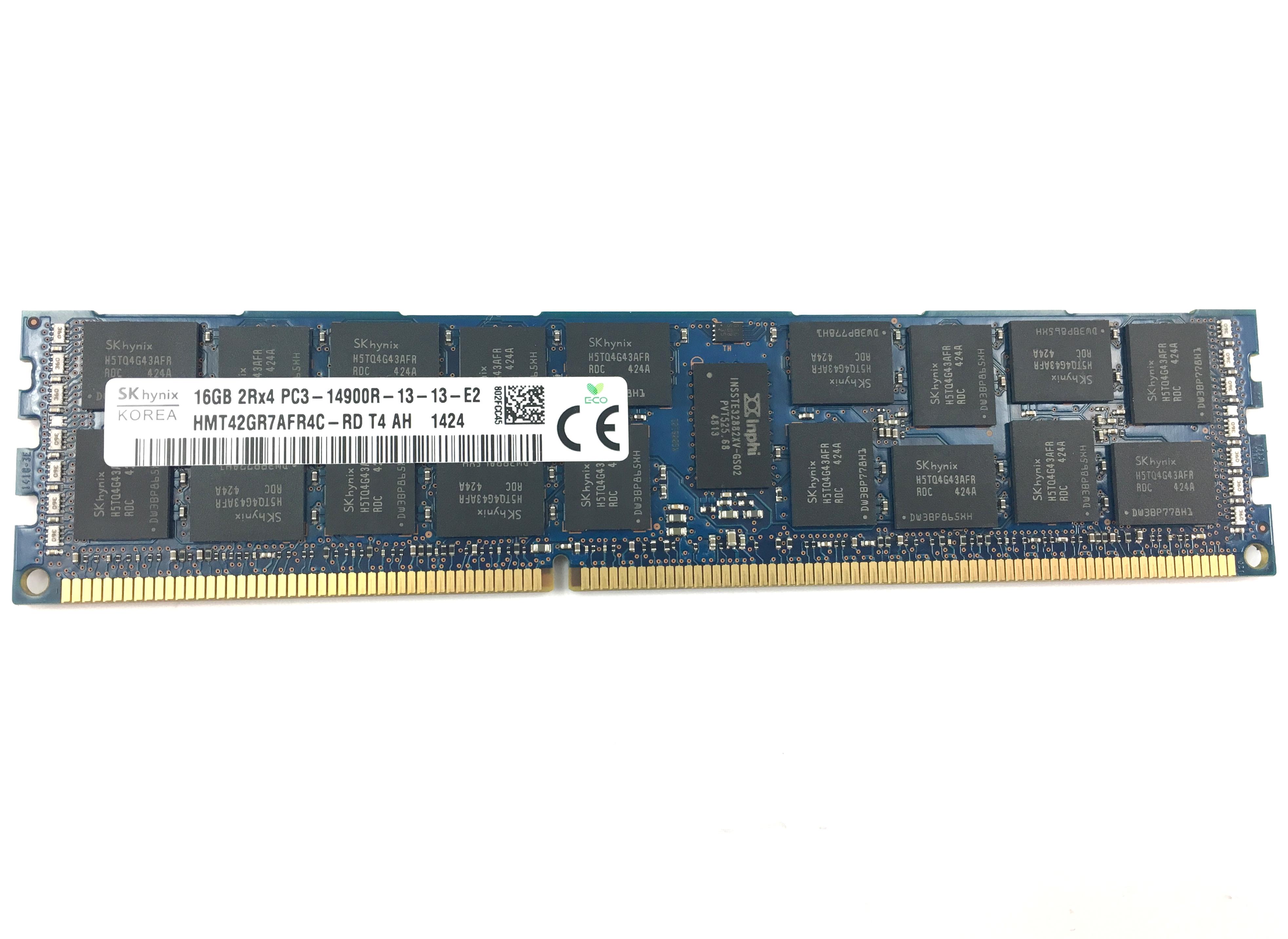Hynix 16GB 2Rx4 PC3-14900R DDR3 1866MHZ ECC REG Memory (HMT42GR7AFR4C-RD)
