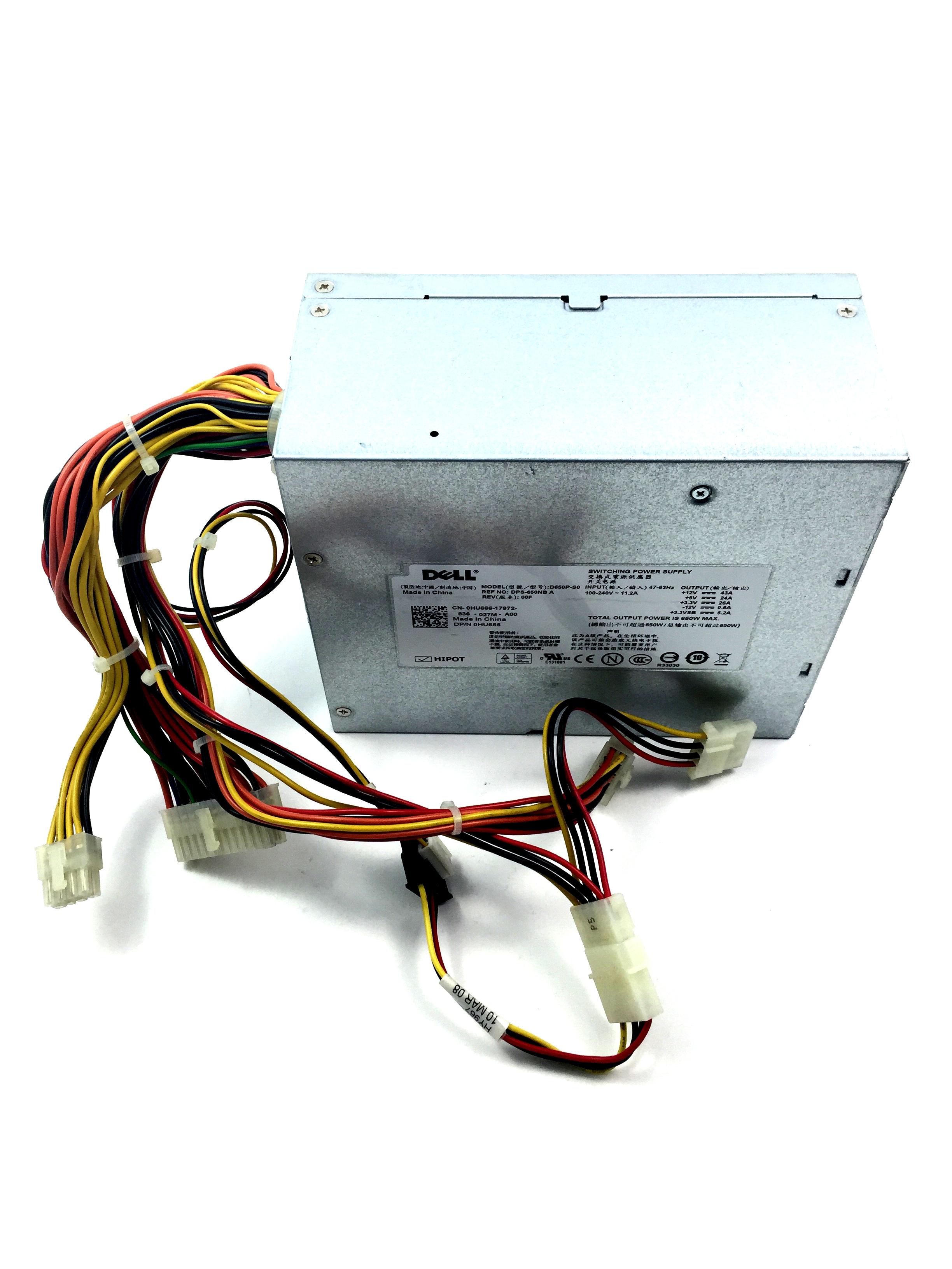 Dell PowerEdge T605 650W Server Power Supply (HU666)
