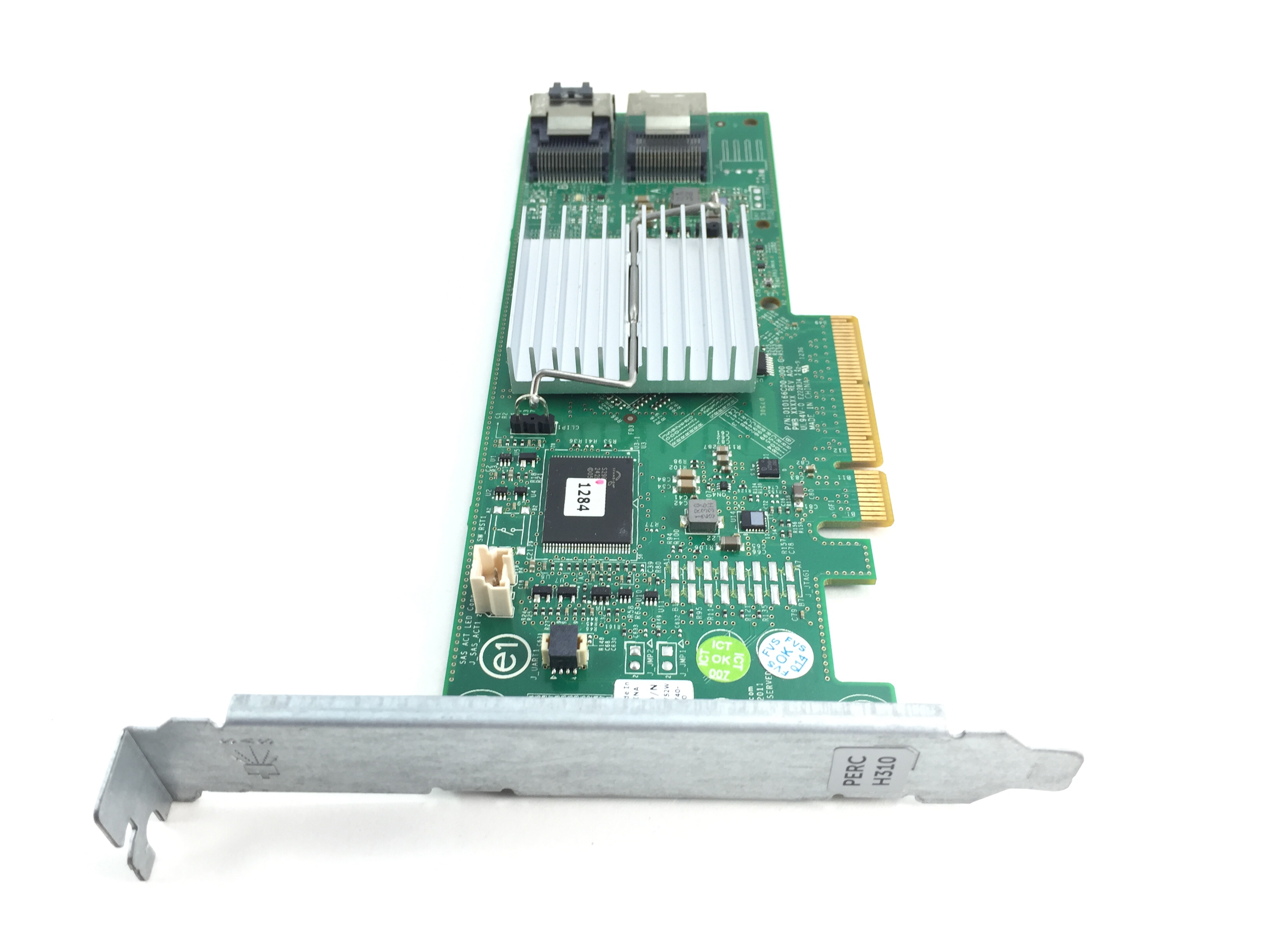DELL POWEREDGE H310 8 PORT  PCI-E 6GBPS SAS/SATA RAID CONTROLLER (HV52W)