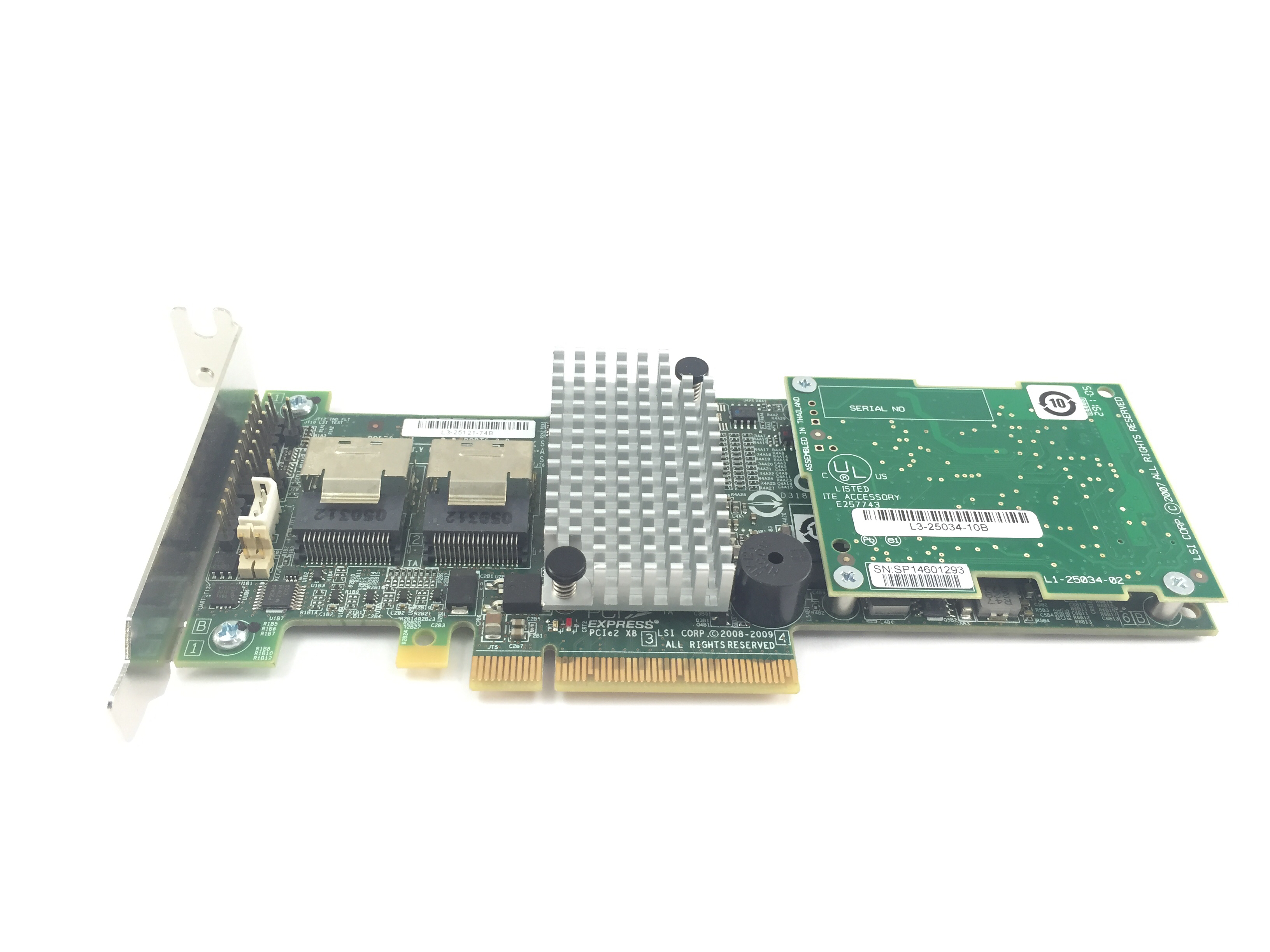 LSI 6Gb/s SAS Host Bus Adapter Interposer Board (L3-25034-10B)