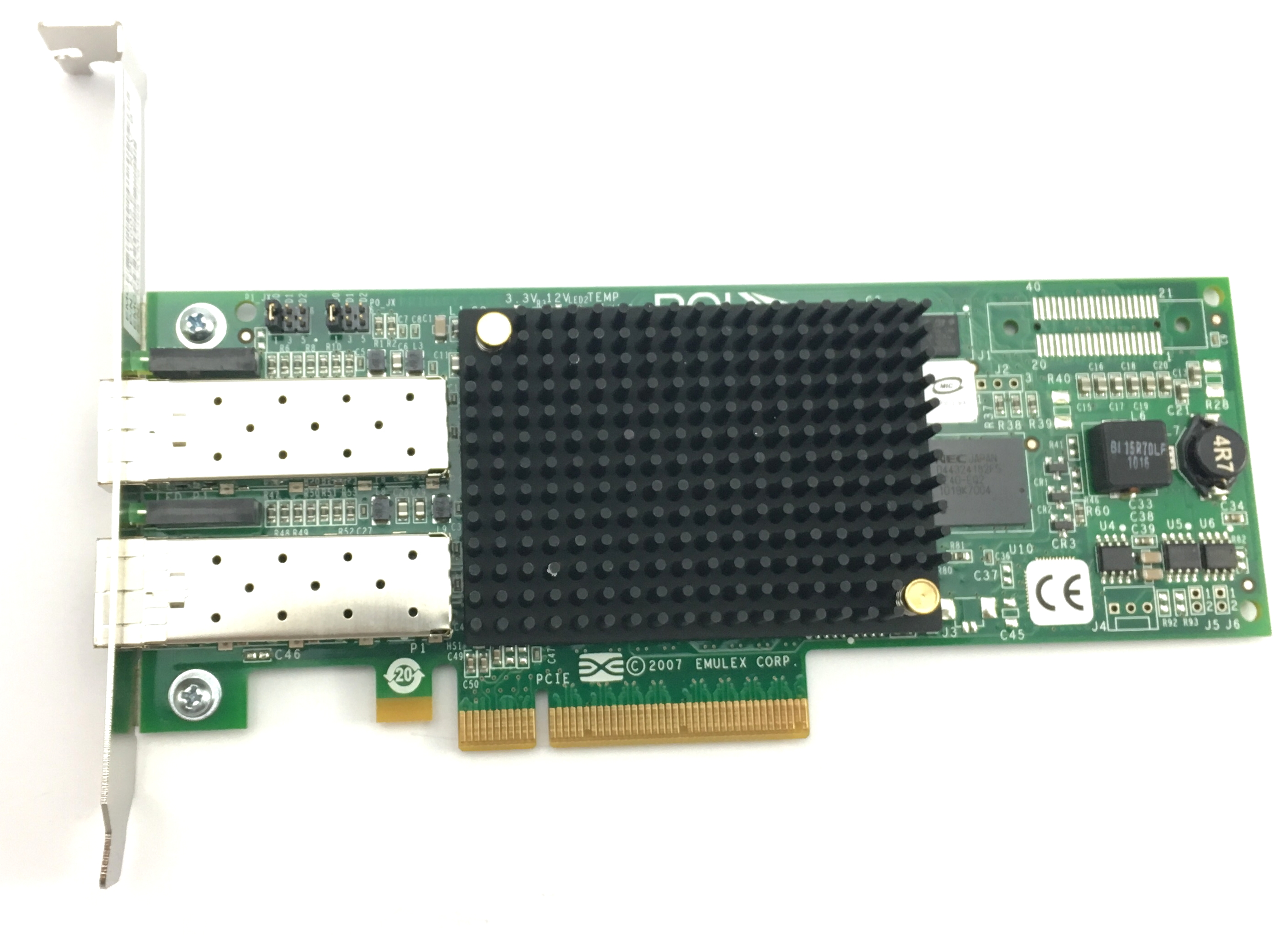 Emulex Broadcom Lightpulse 8GB Dual Port Fibre PCI-E HBA (LPE12002)