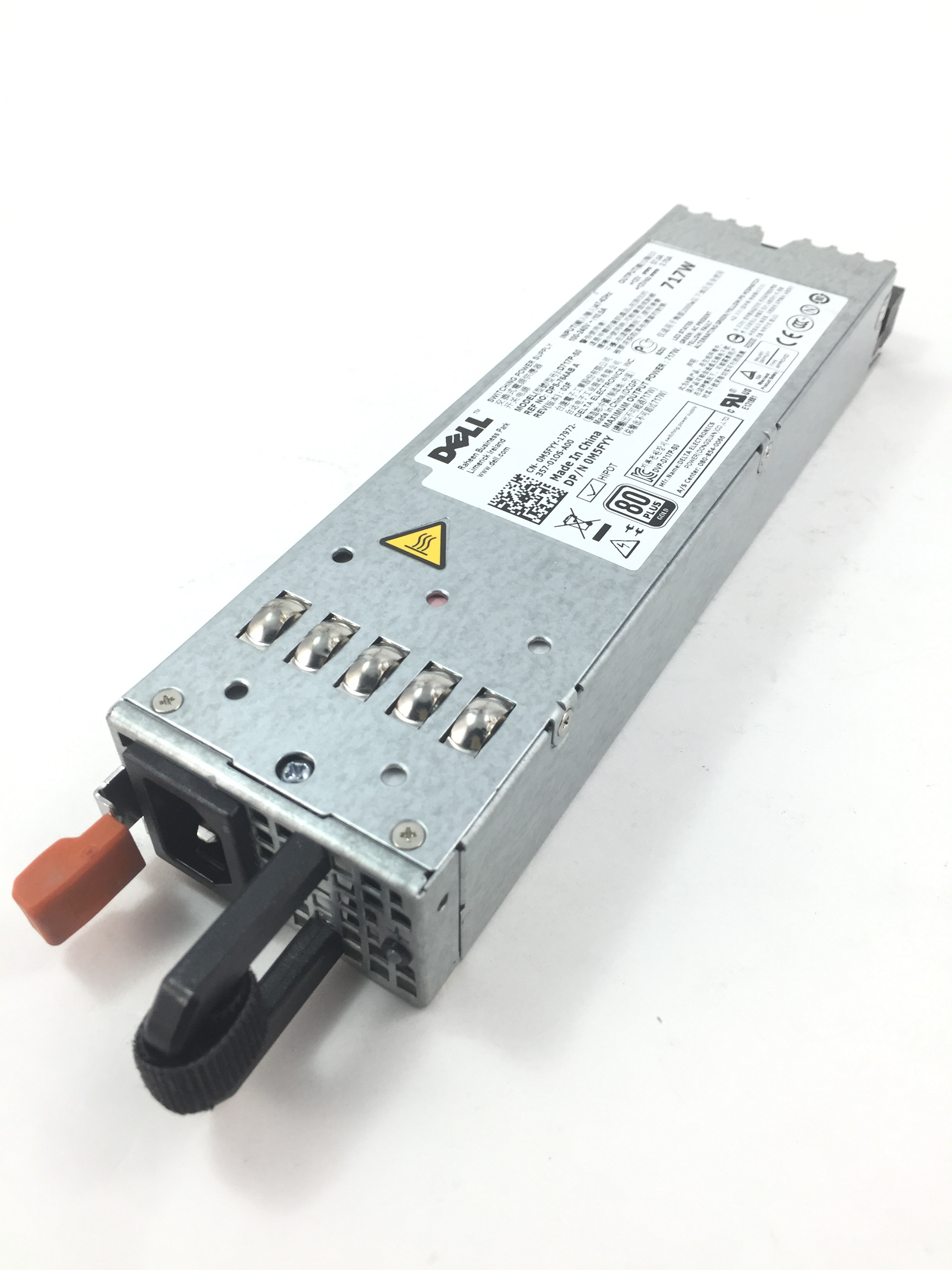 Dell PowerEdge R610 717W Power Supply (M5FYY)