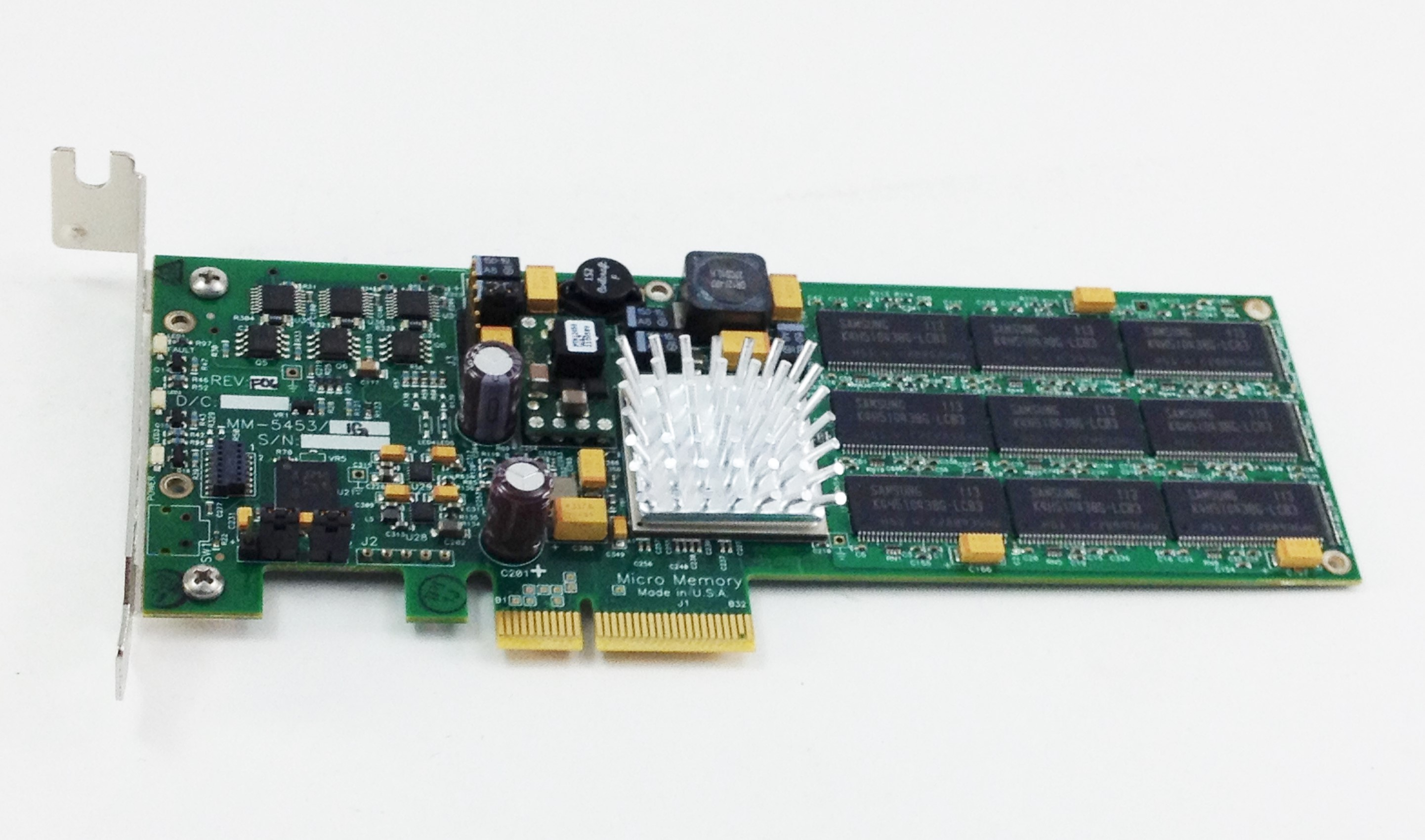 MM  5453 Curtiss Wright 1GB NvRAM PCI-E Mezzanine Card Without Battery (MM  5453)