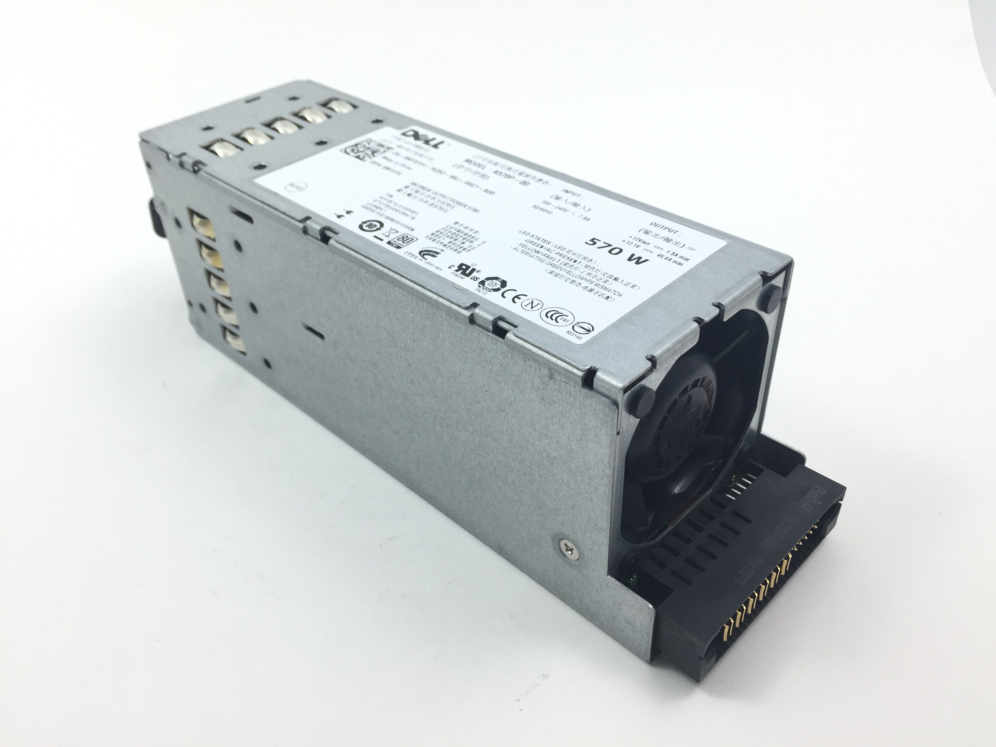 MYXYH Dell PowerEdge R710 T610 570W Power Supply (MYXYH)