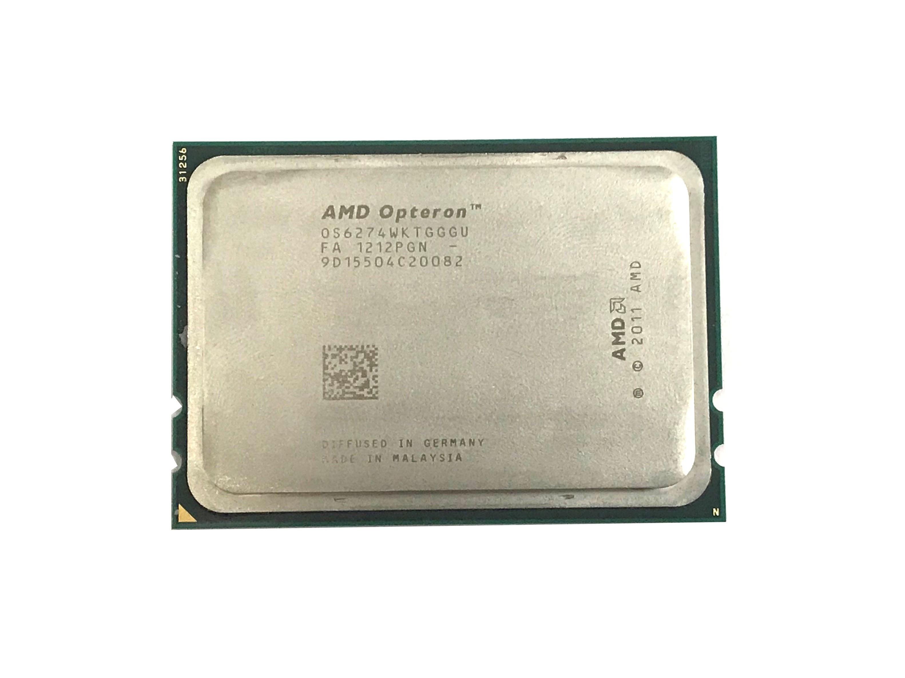 AMD Opteron 6274 2.2GHz 16Cores 16MB L3 Cache Processor (OS6274WKTGGGU)