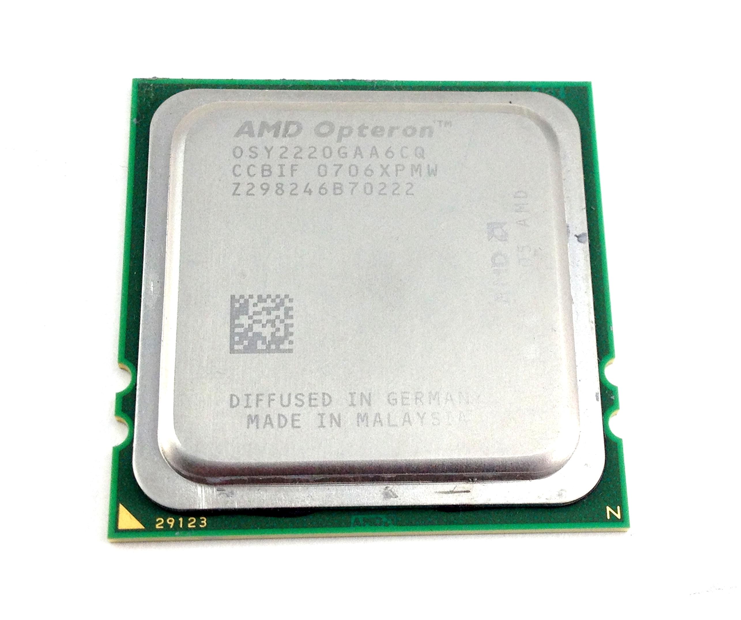 AMD Opteron 2.8GHz 2MB Cache Dual Core Socket F Processor (OSY2220GAA6CQ)