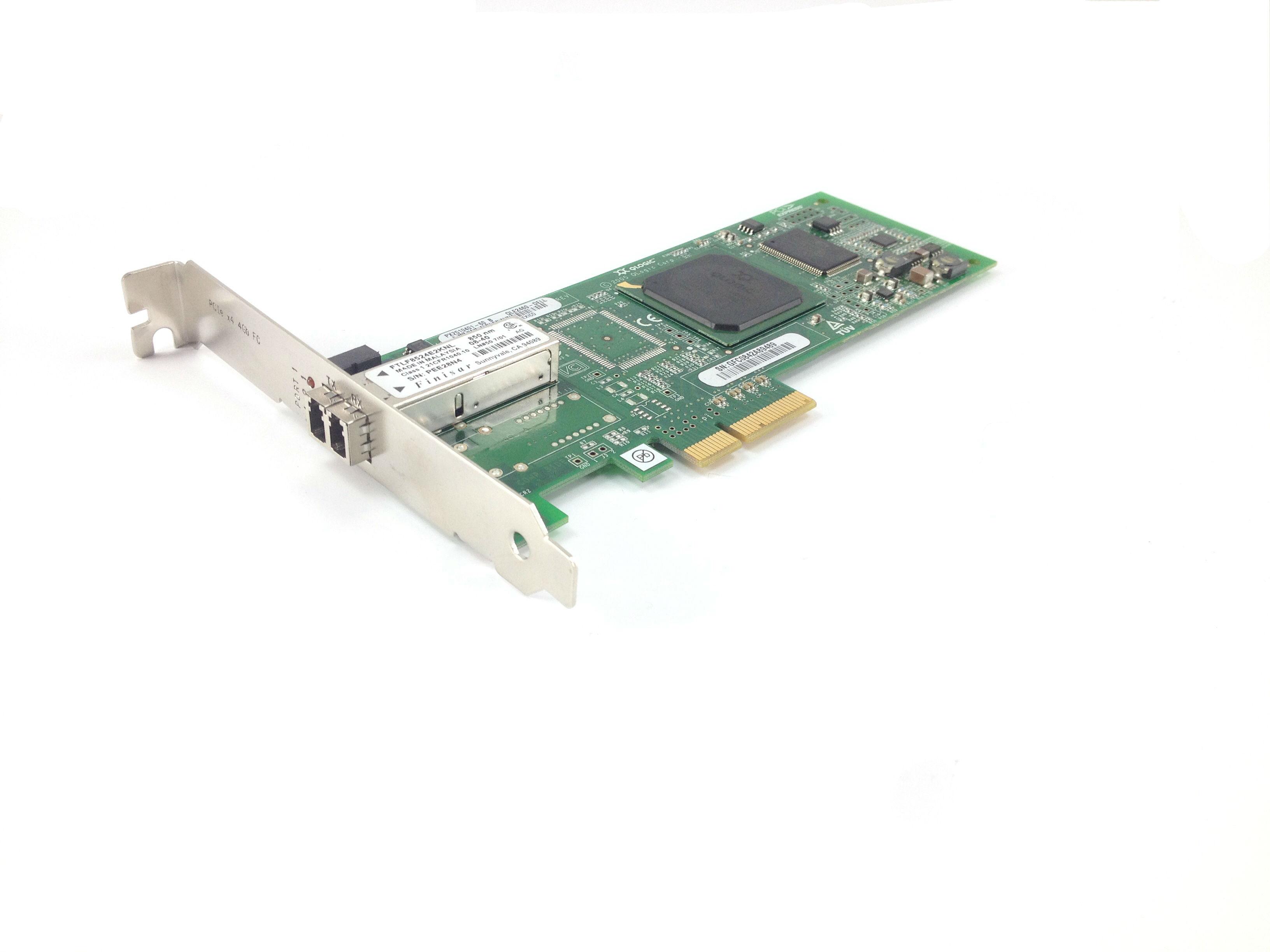 Dell Qlogic QLE2460 4GB PCI-E Host Bus Adapter (PF323)