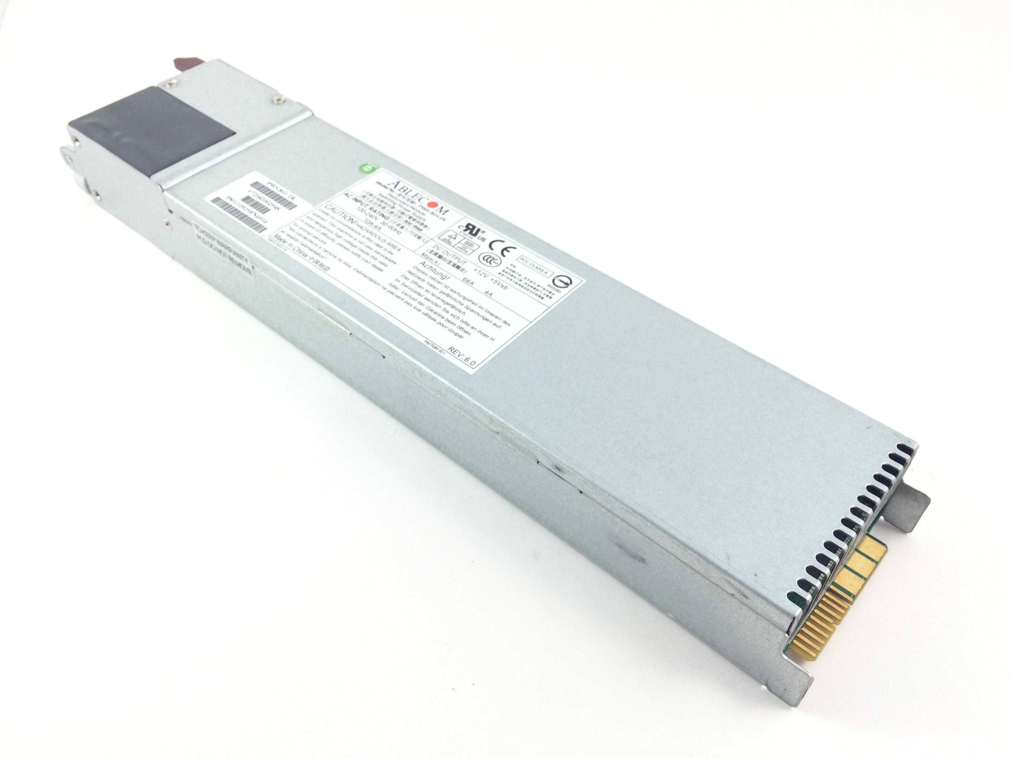Supermicro 800W Hot Swap Power Supply (PWS-801-1R)