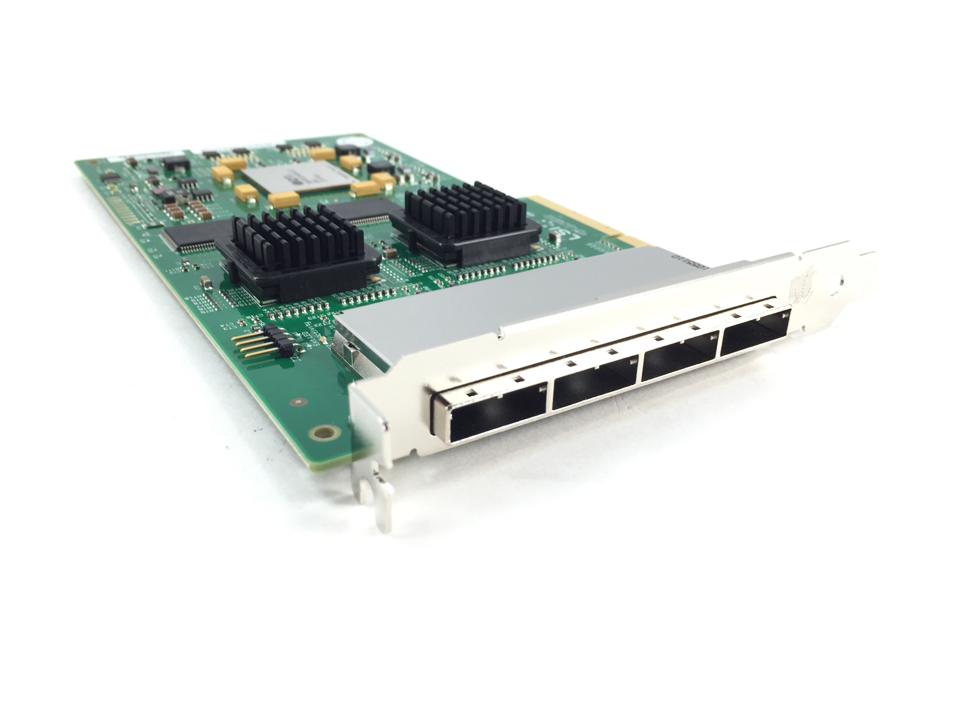 LSI Logic Quad-Port PCI-E X8 3Gbps SAS/SATA Host Bus Adapter (SAS31601E)