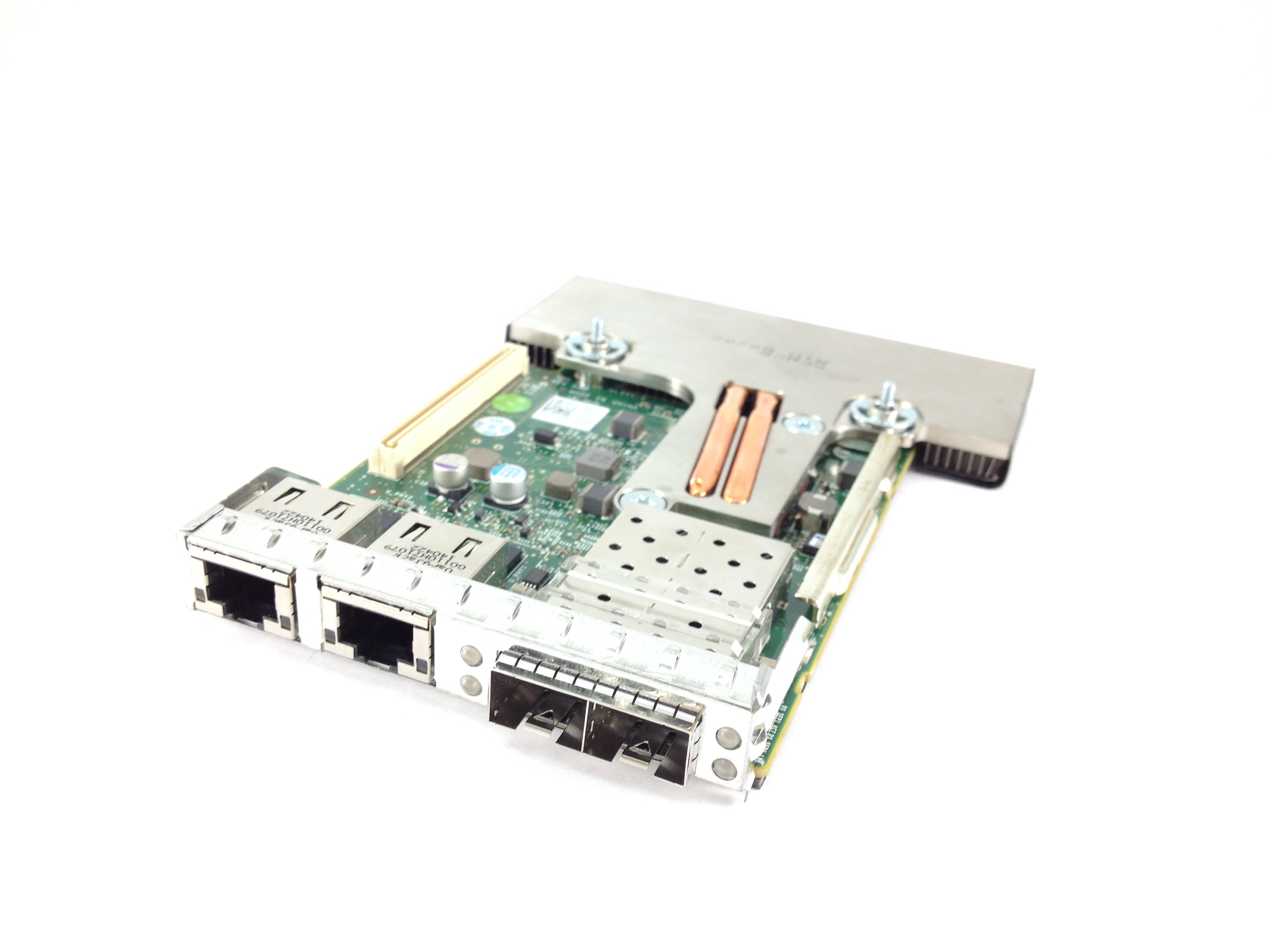DELL BROADCOM 57800S 2 X 10GBE SFP+ 2 X 1GBE NETWORK DAUGHTER CARD (165T0)