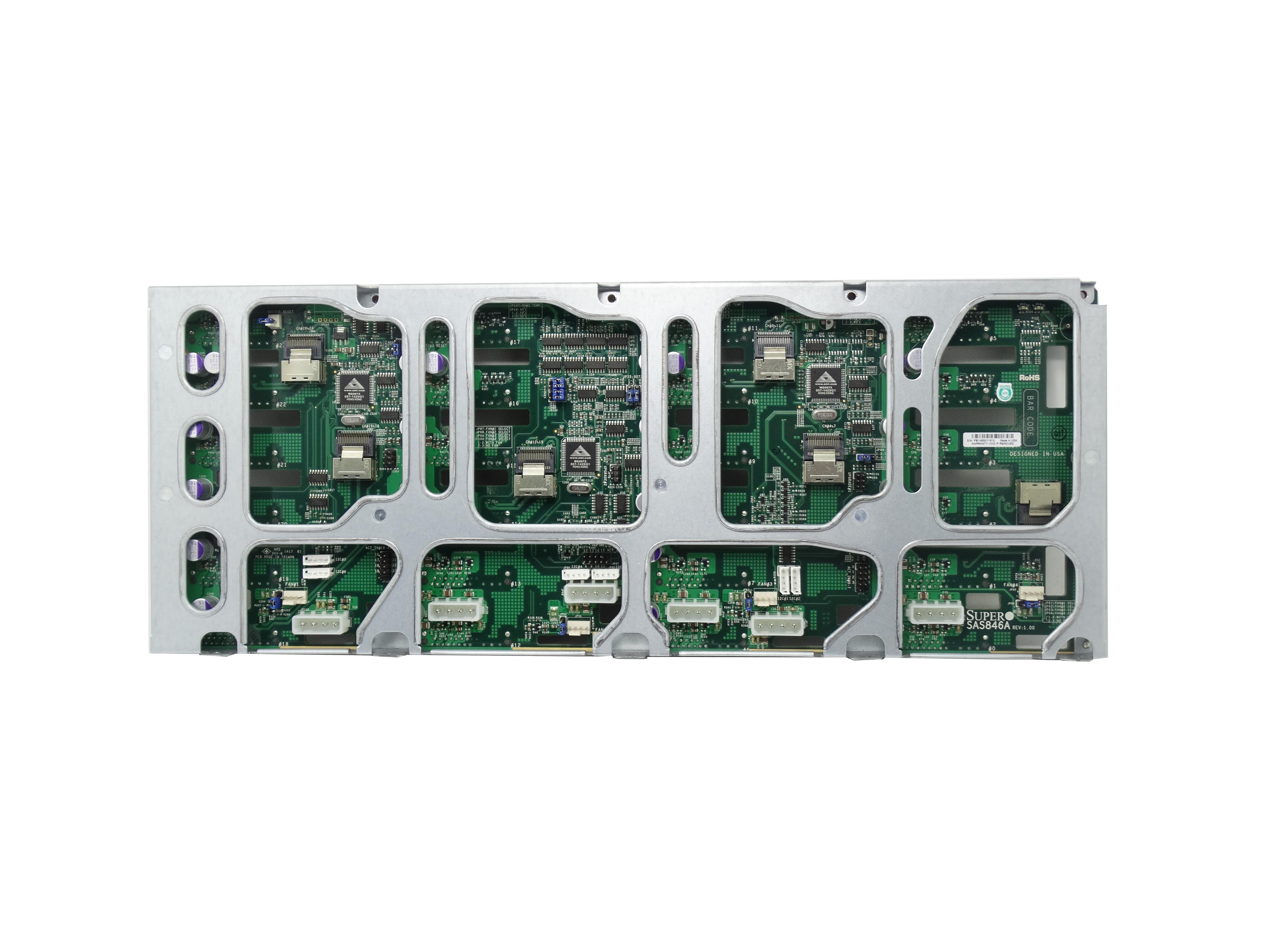 Supermicro 24 Port SAS SATA 4U Server Backplane (SAS846A)