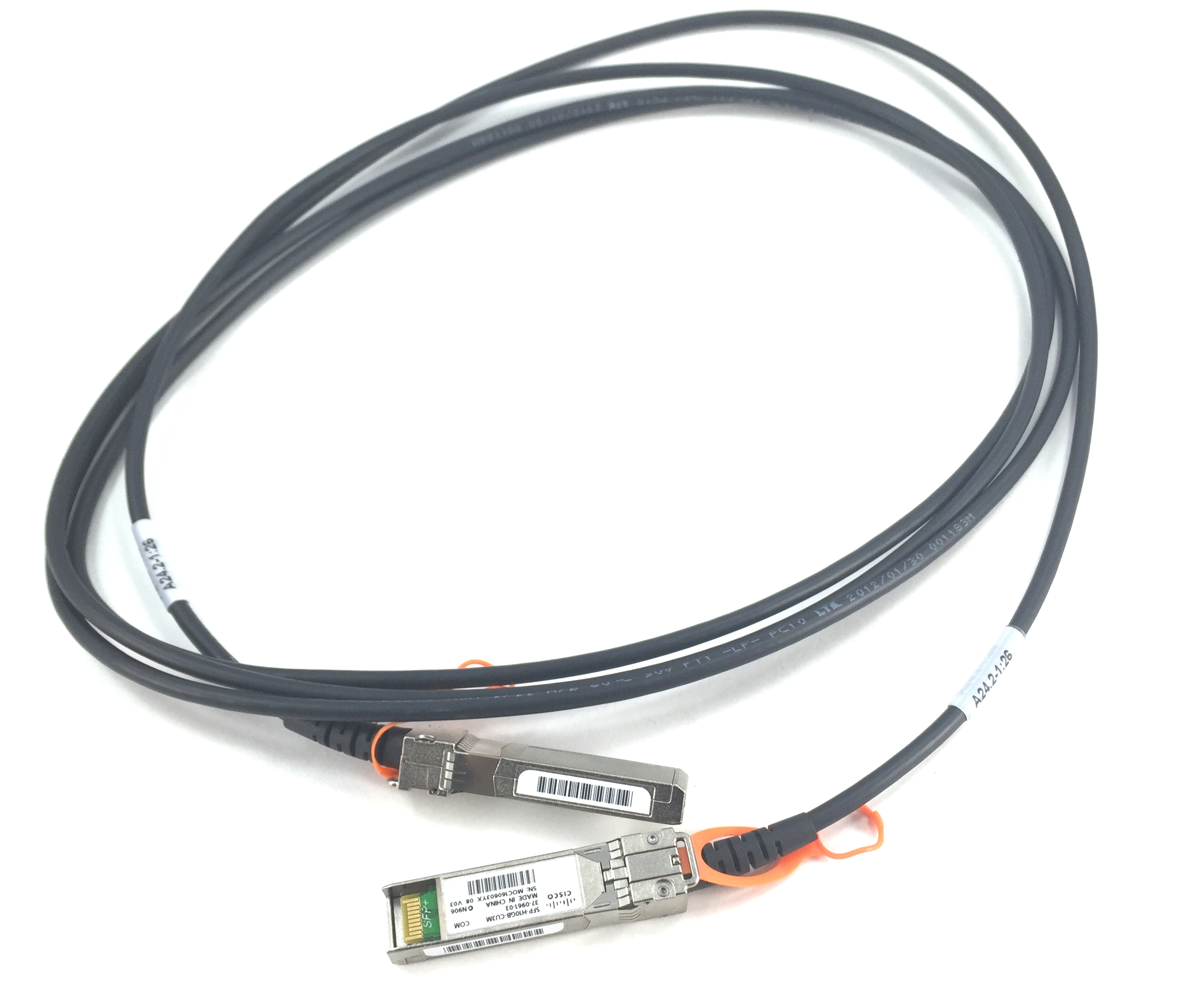 Cisco 10GB SFP+ Twinax Copper 3M Passive Cable (SFP-H10GB-CU3M)