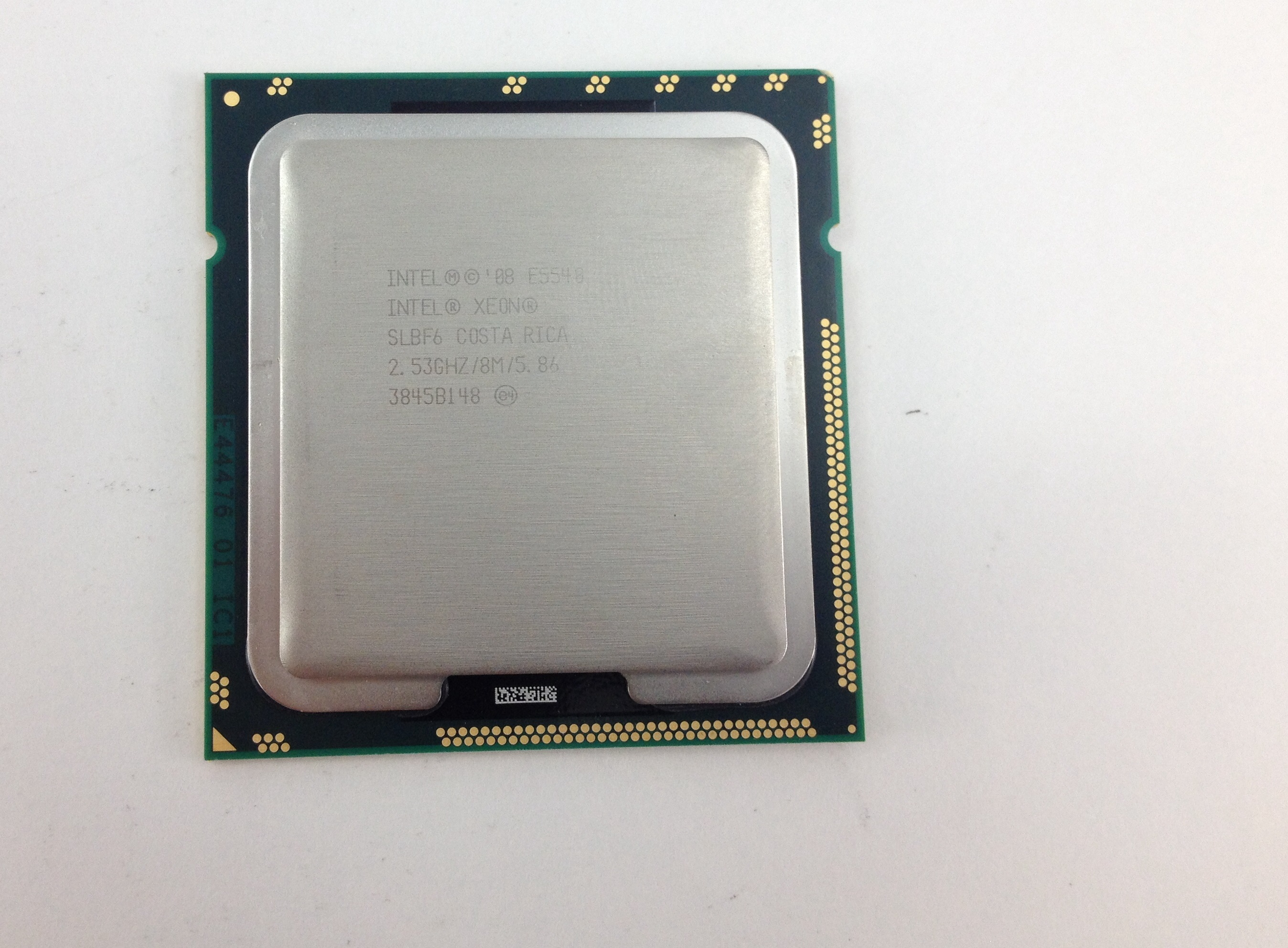 INTEL XEON E5540 2.53GHZ QUAD CORE 8MB LGA1366 PROCESSOR (SLBF6)