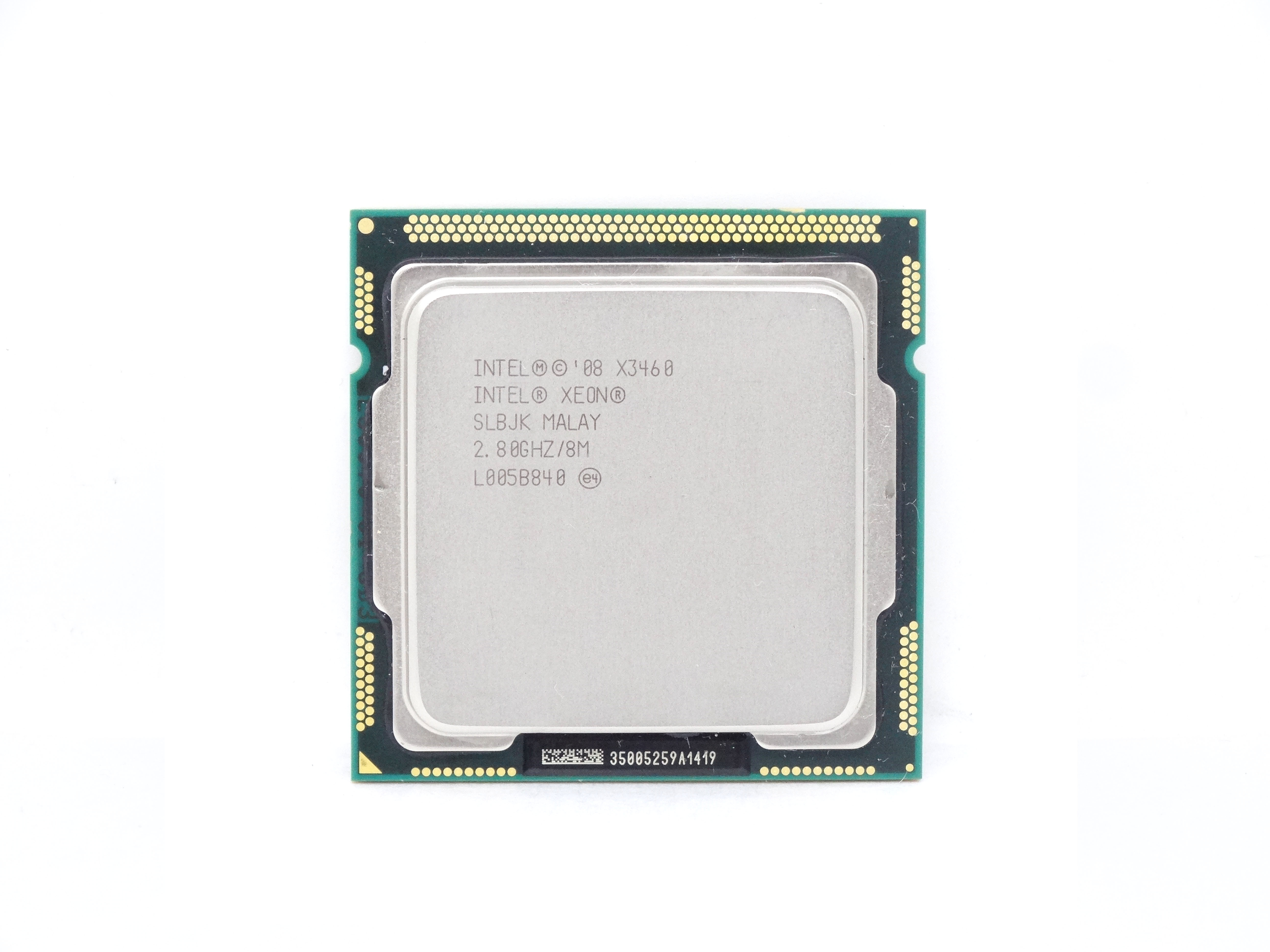 SLBJK Intel Xeon Quad Core X3460 2.80Ghz 2.5Gt/s 8MB L3 Cache Socket LGA 1156 Processor (SLBJK)