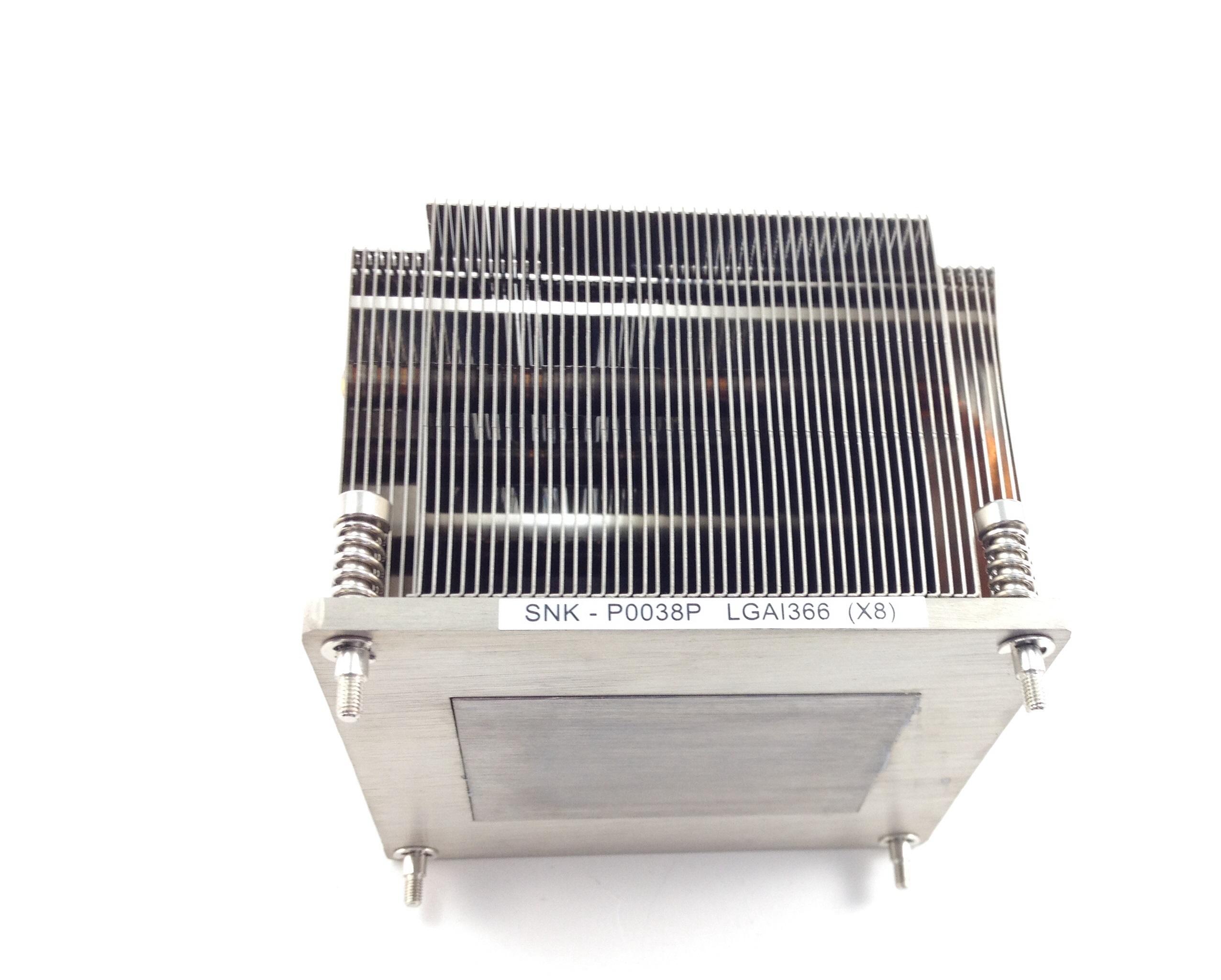 Supermicro 2U SNK-P0038P LGA1366 (X8) Intel Xeon Socket Heatsink (SNK-P0038P)