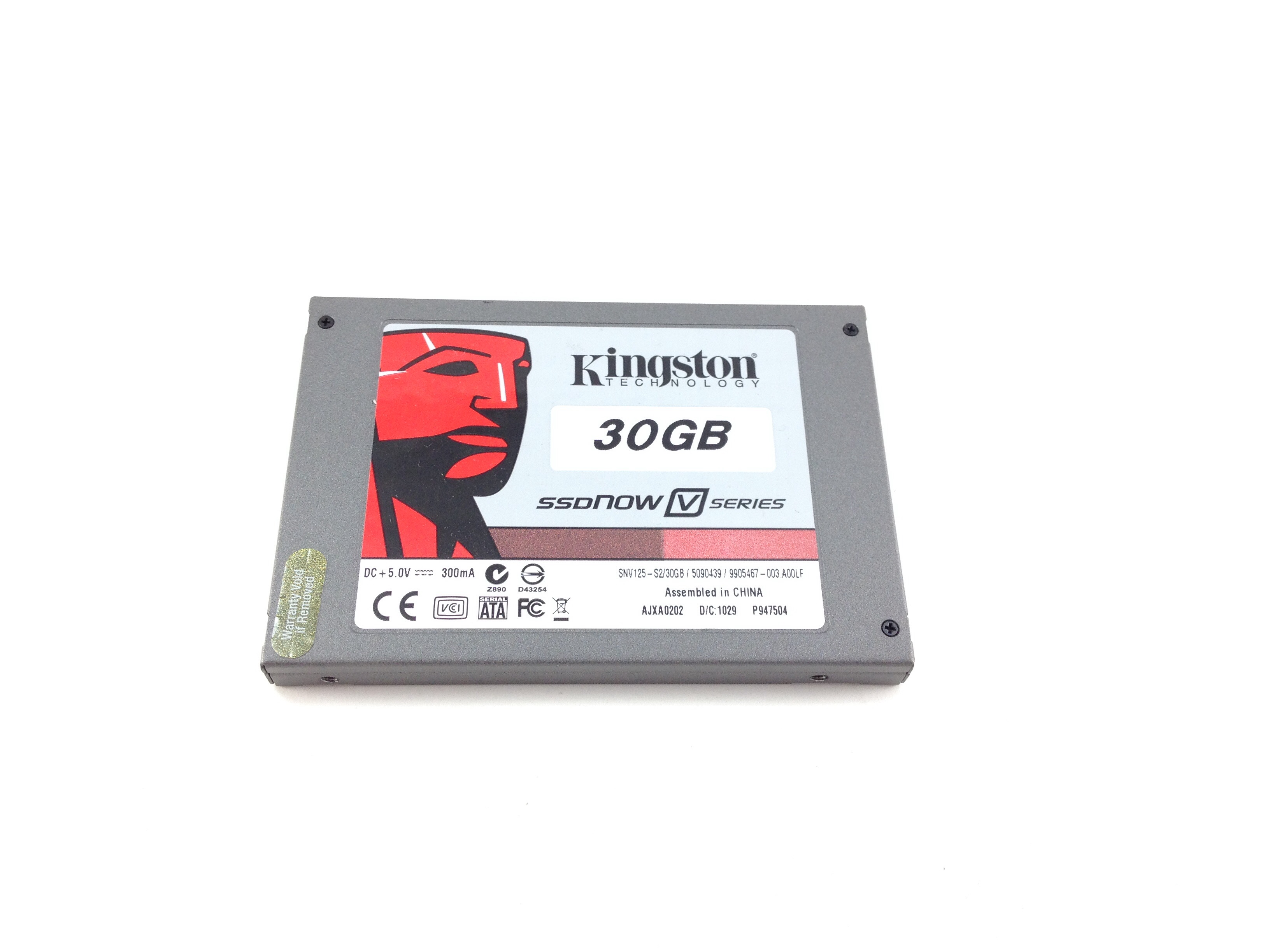 KINGSTON 30GB SATA 2.5'' SOLID STATE DRIVE SSD (SNV125-S2)