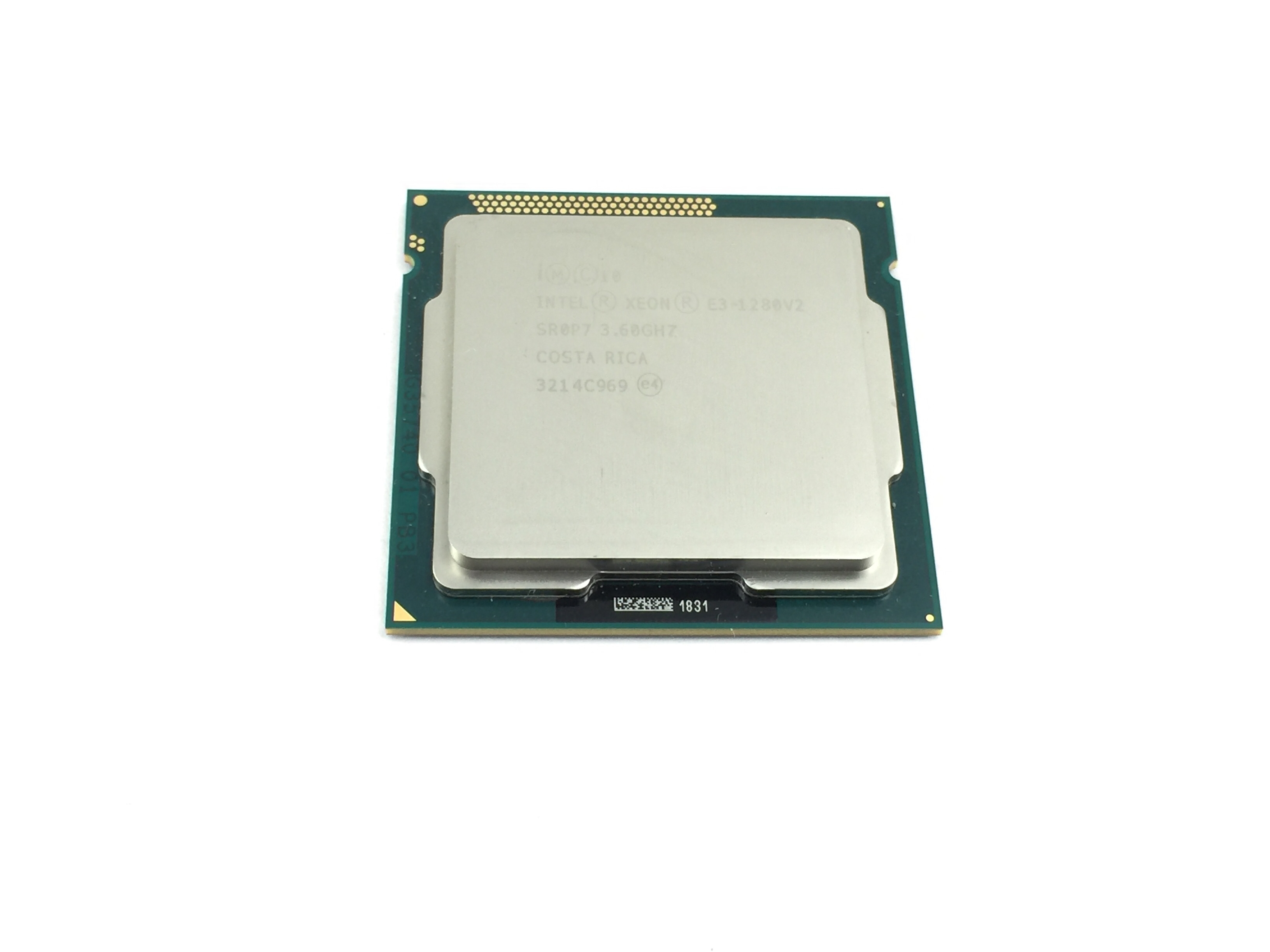 INTEL XEON E3-1280V2 3.6GHZ QUAD CORE 8MB CACHE LGA1155 PROCESSOR (SR0P7)