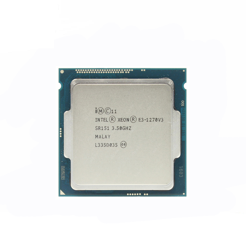 INTEL XEON E3-1270V3 3.5 GHZ QUAD CORE LGA 1150 PROCESSOR (SR151)