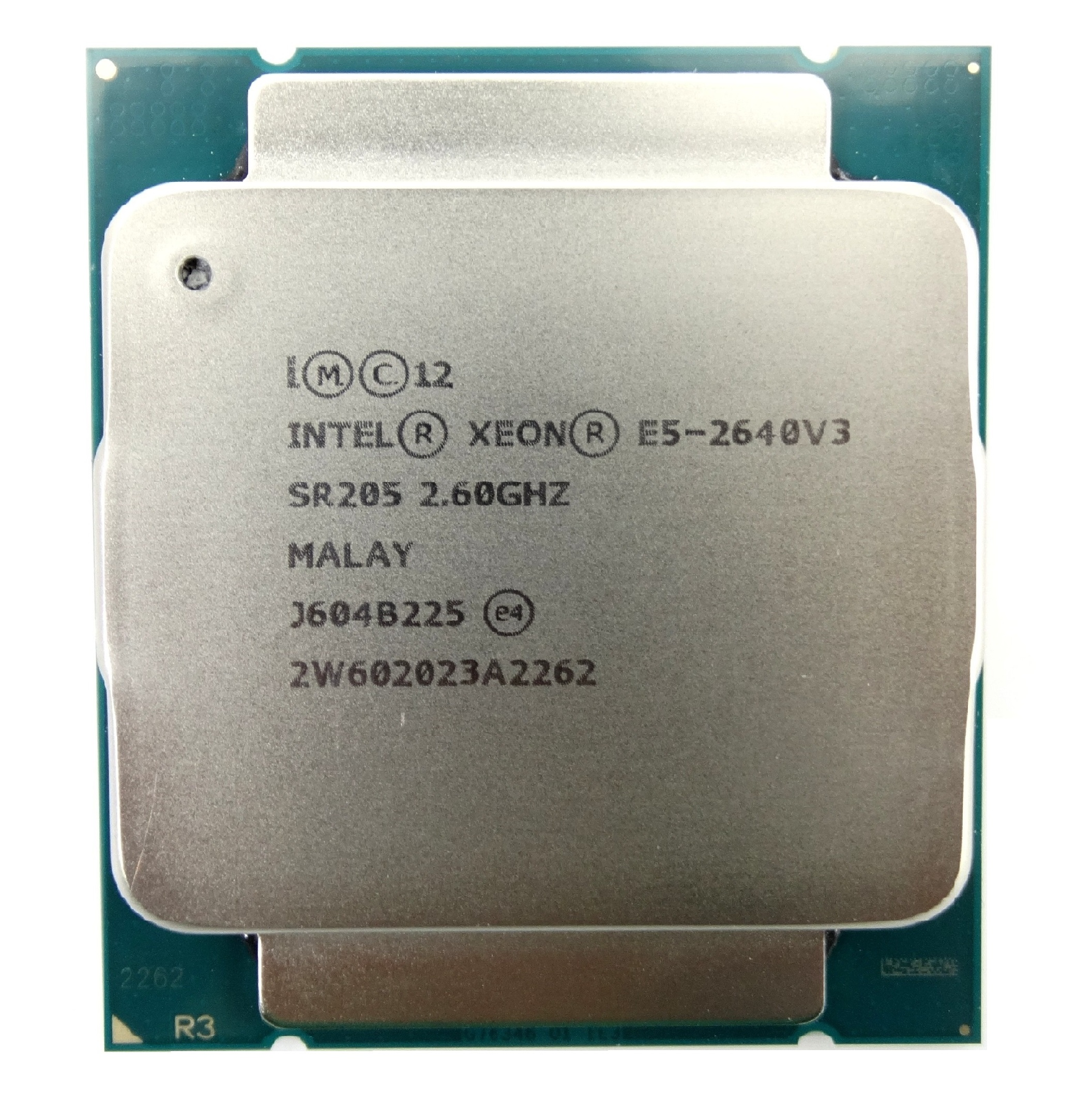 INTEL XEON E5-2640V3 2.6GHZ 8 CORE 20M 8.0GT/S 90W LGA 2011-3 PROCESSOR (SR205)