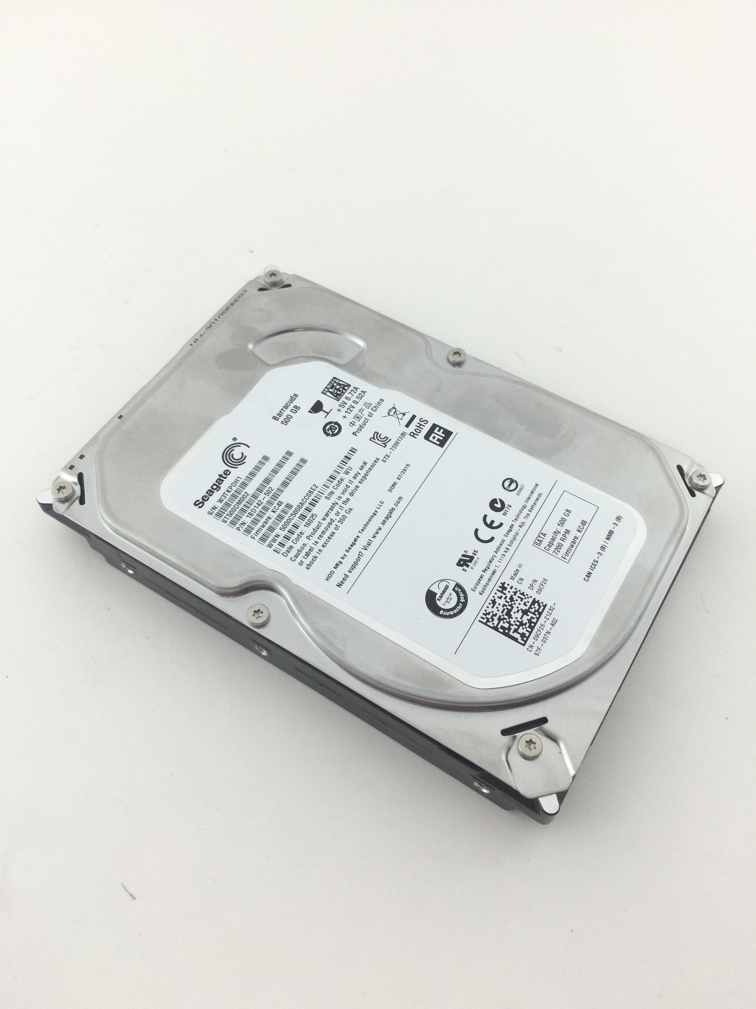 500GB 7.2K 6Gbps SATA 3.5'' Hard Drive (ST500DM002)