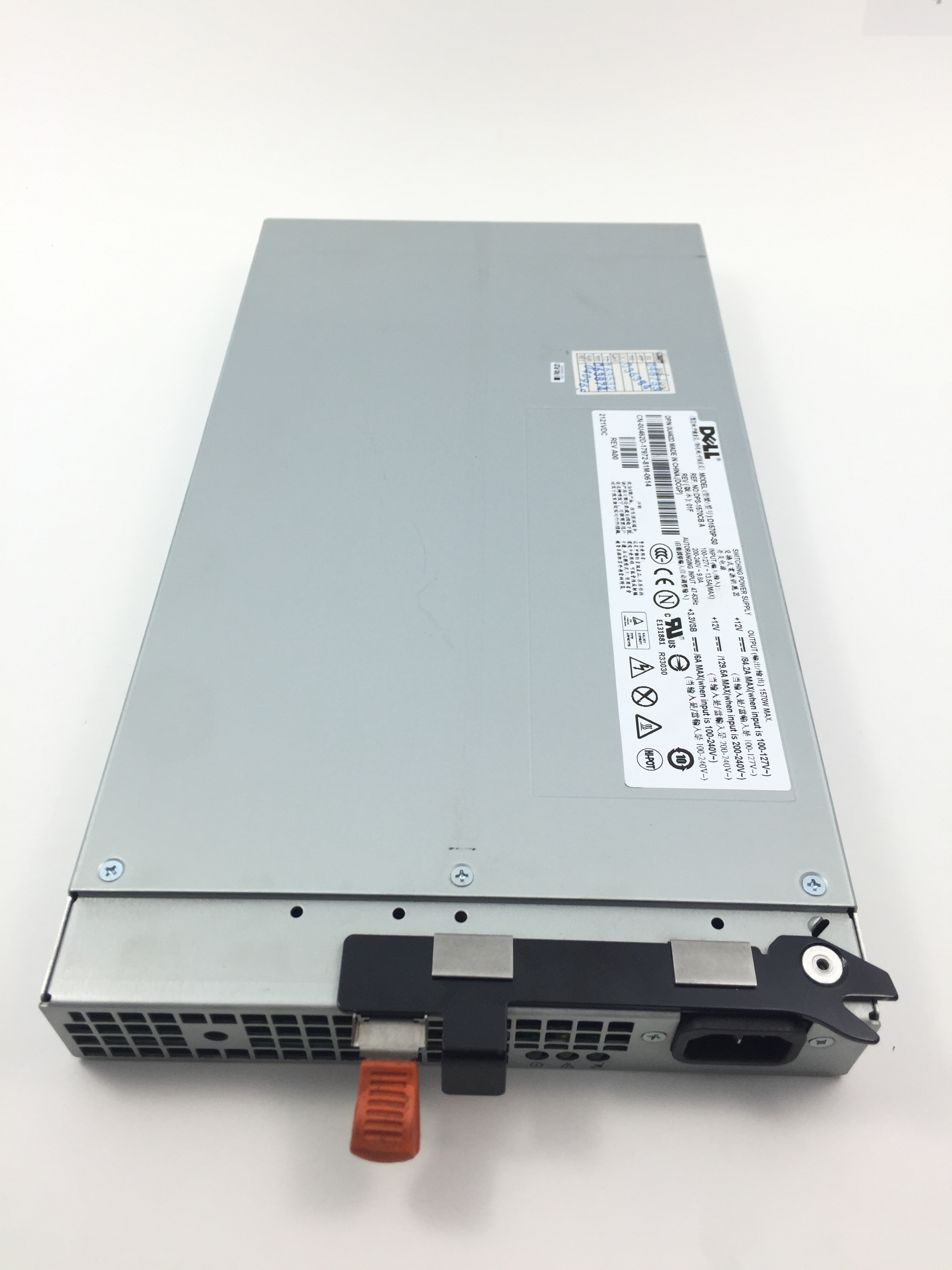 Dell PowerEdge R900 1570W Power Supply (U462D)