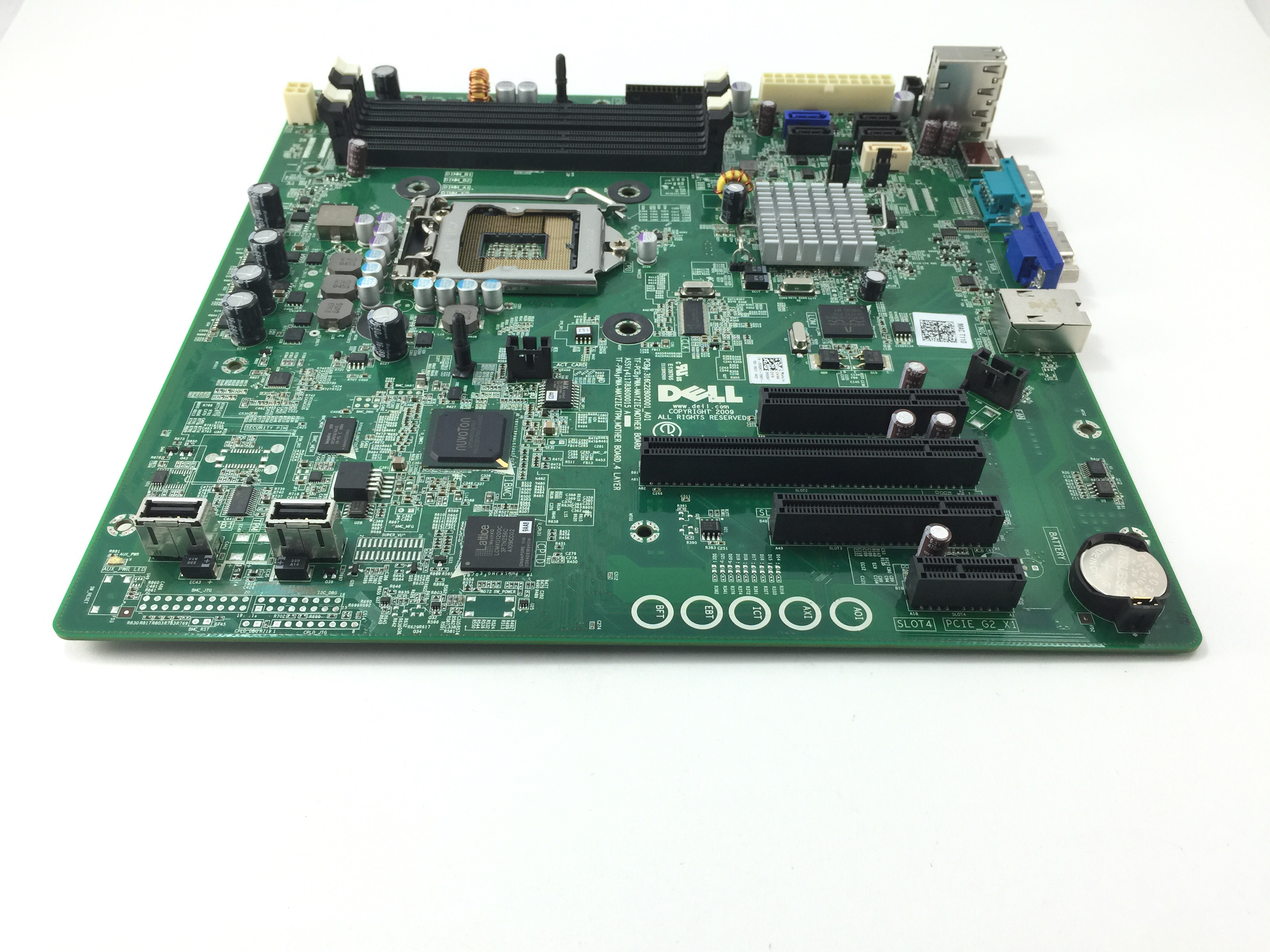 Dell PowerEdge T110 LGA 1155 Server Motherboard (V52N7)