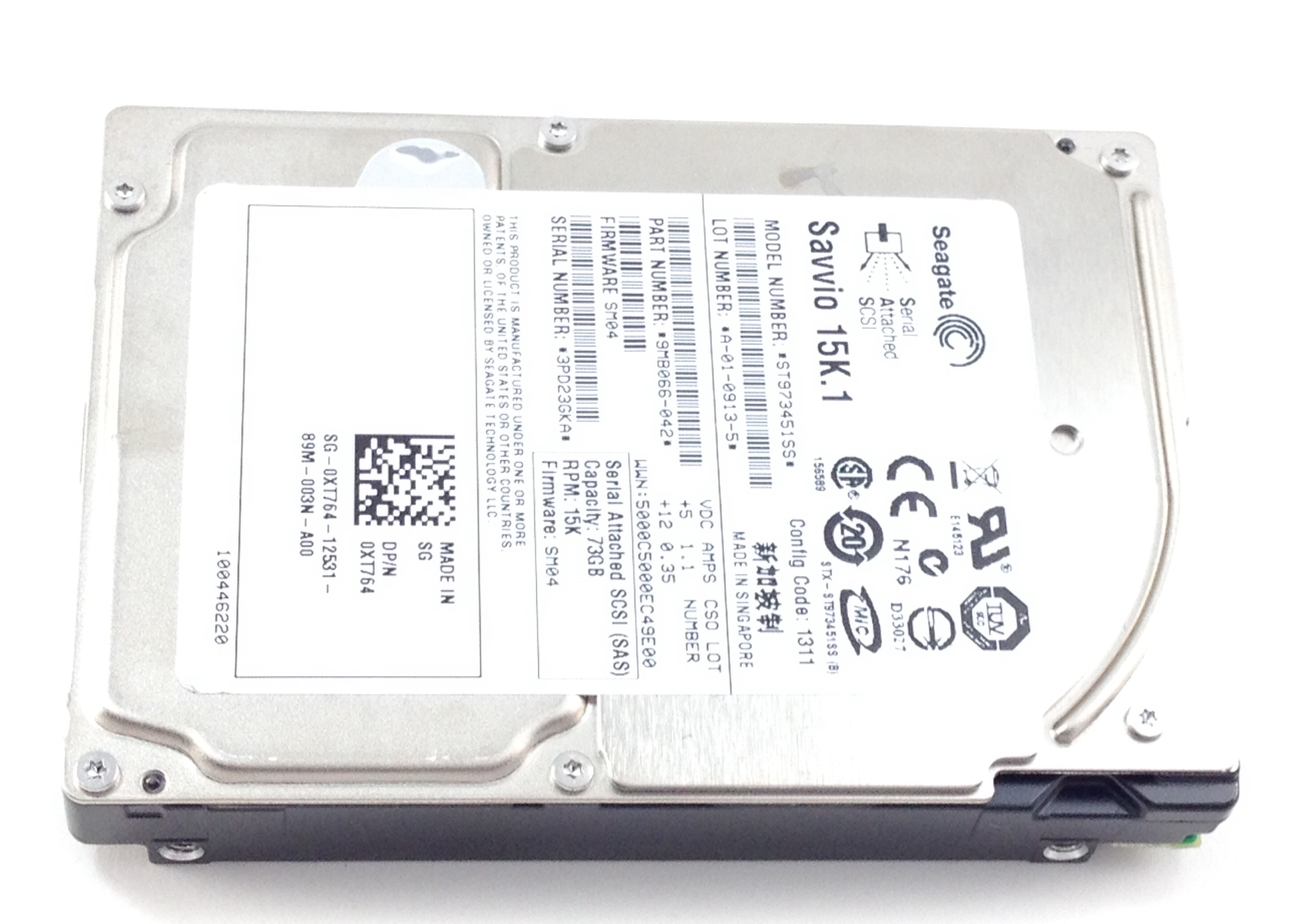 Dell 73GB 15K SAS 6Gb/s 2.5'' Hard Drive (W345K)